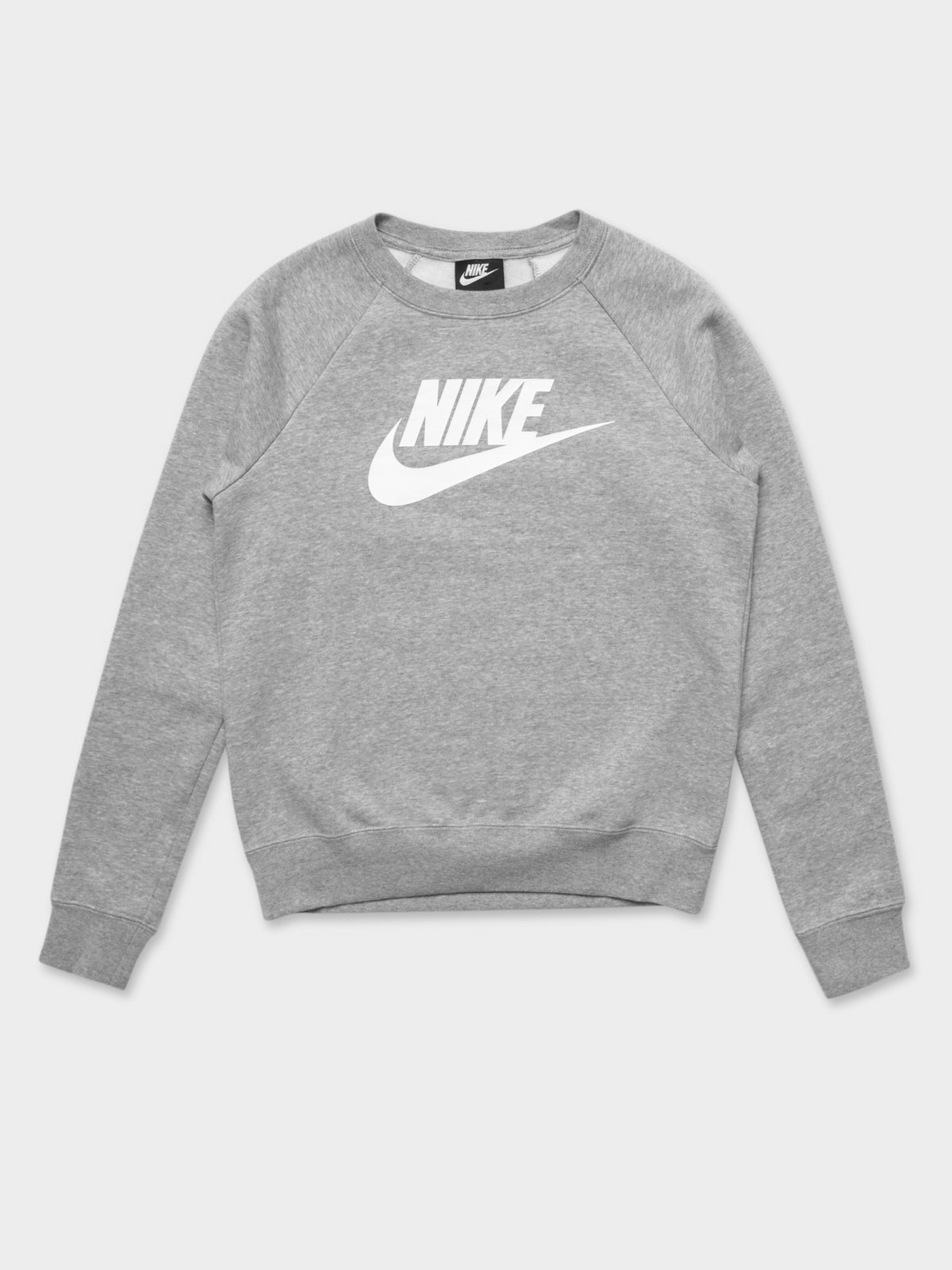 Sportswear Essential Fleece Crew in Grey
