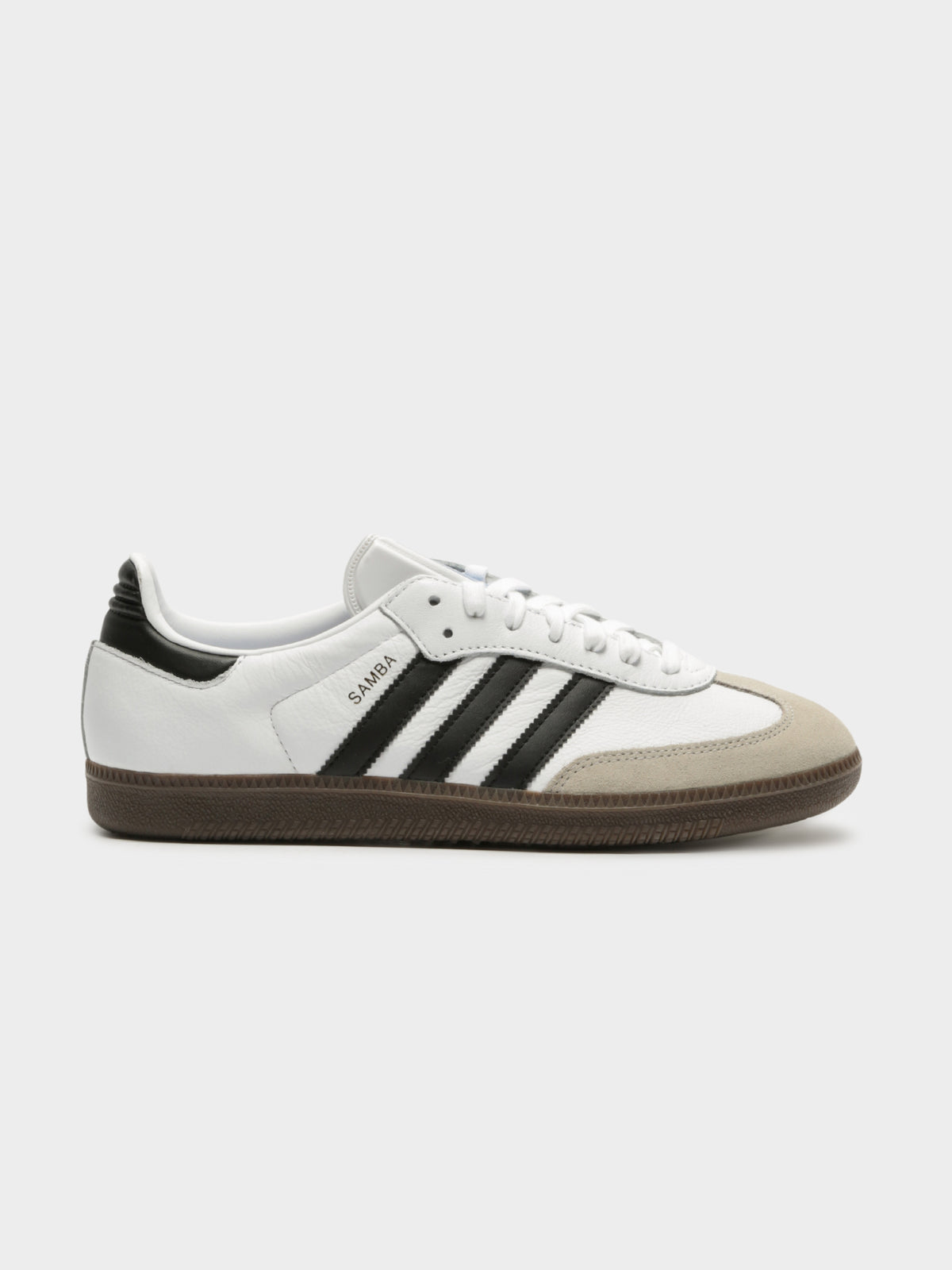 Unisex Samba OG FWR Sneakers in White & Brown Leather