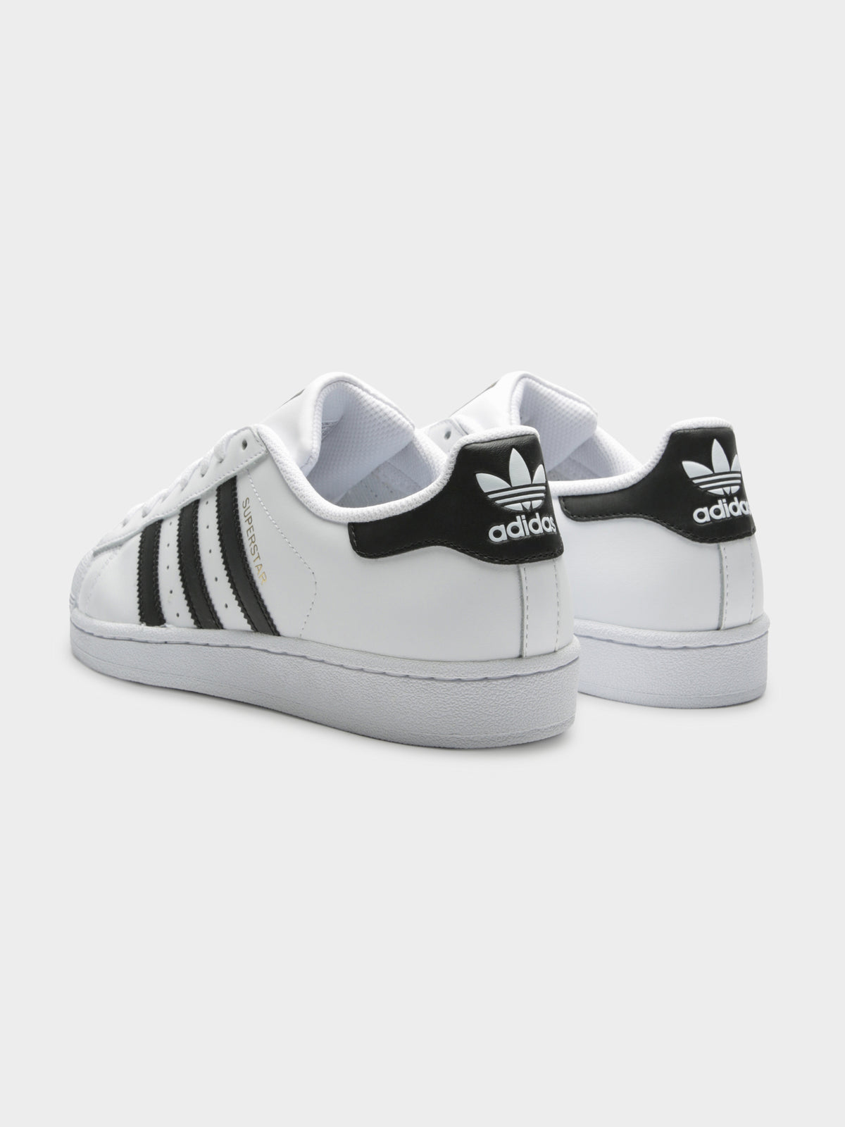 Unisex Superstar Sneakers in White and Black