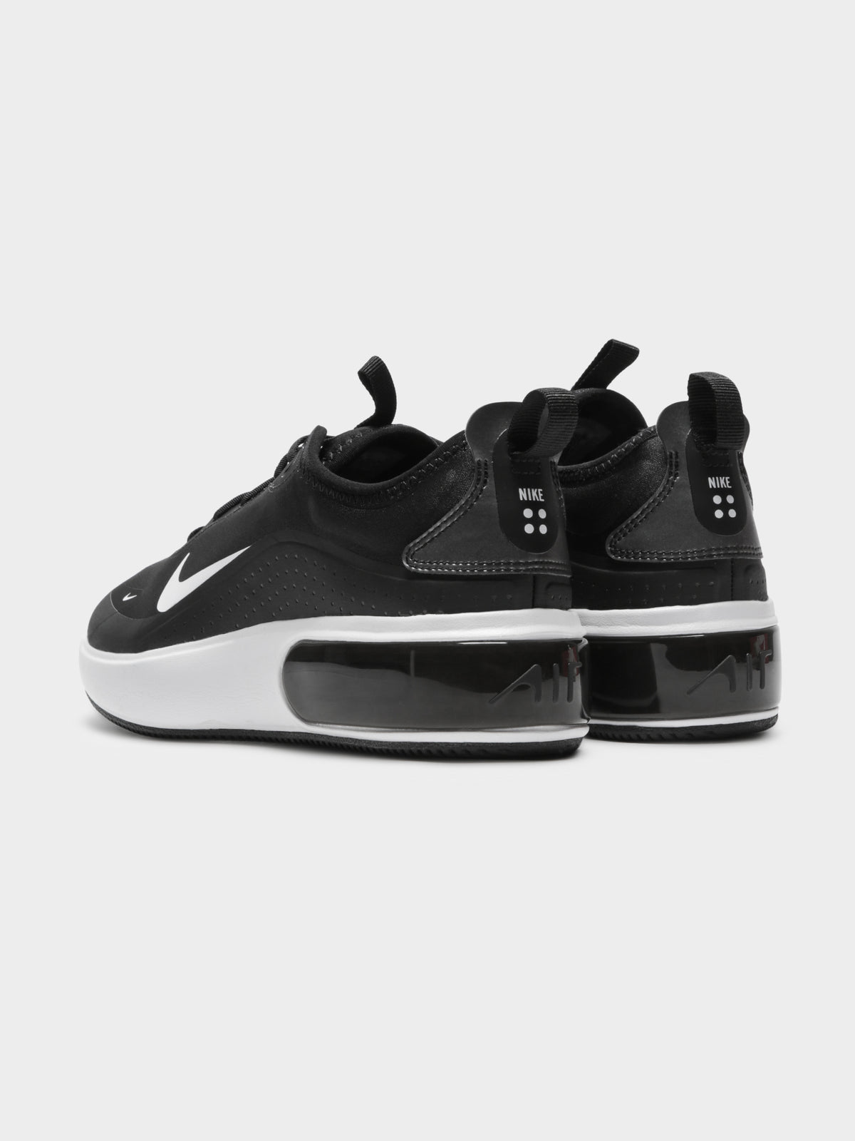 Air Max Dia Sneakers in Black & White