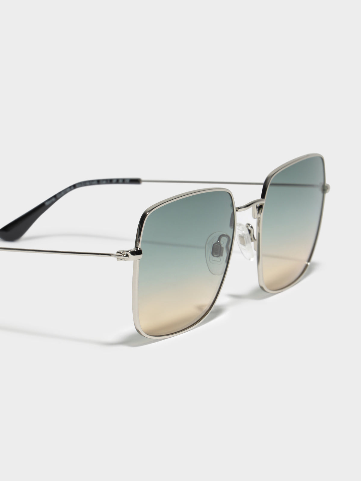 Mona CL673804 Sunglasses in Sliver Green & Yellow