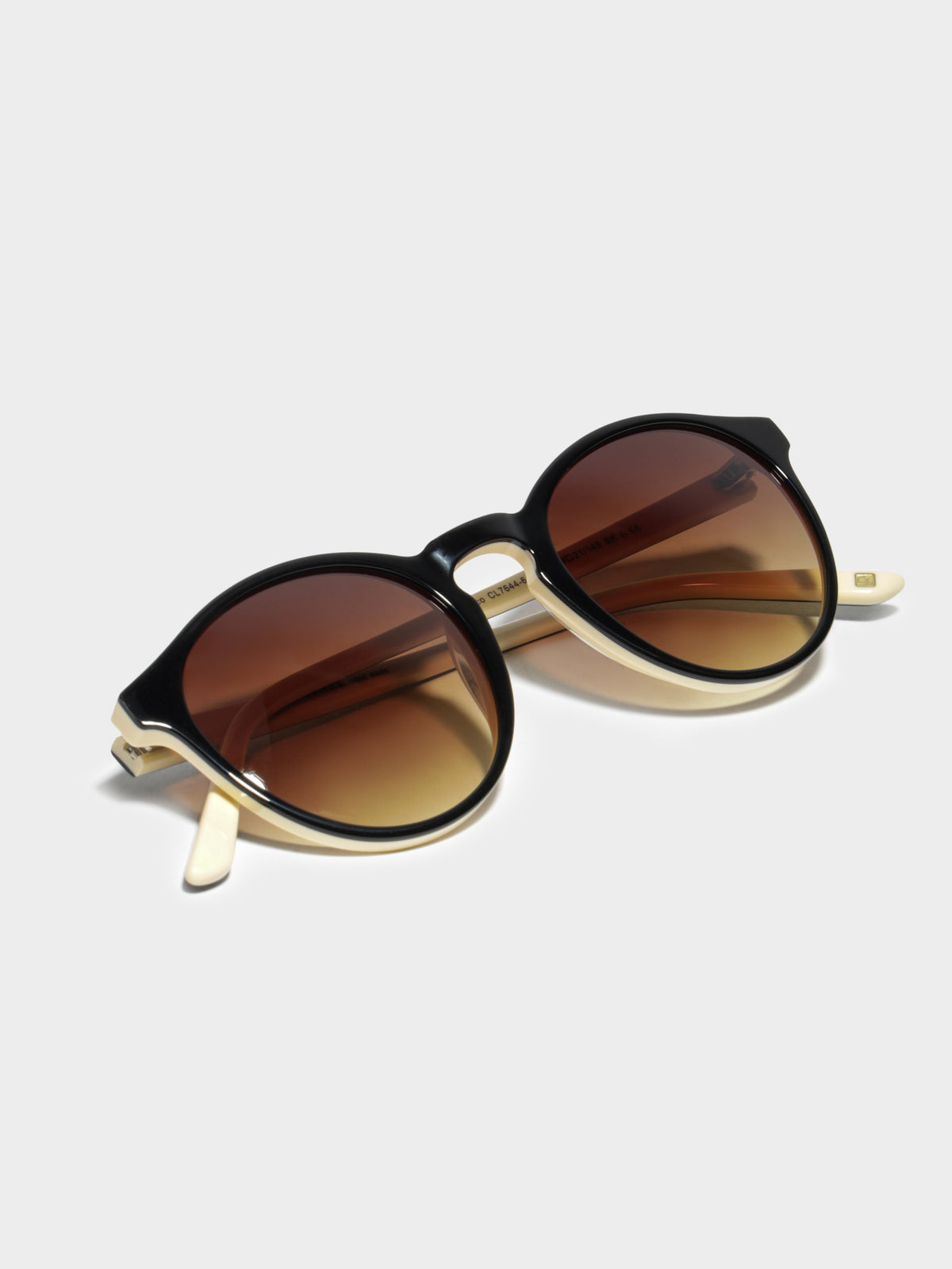 CL7644 Paco Sunglasses in Black Beige