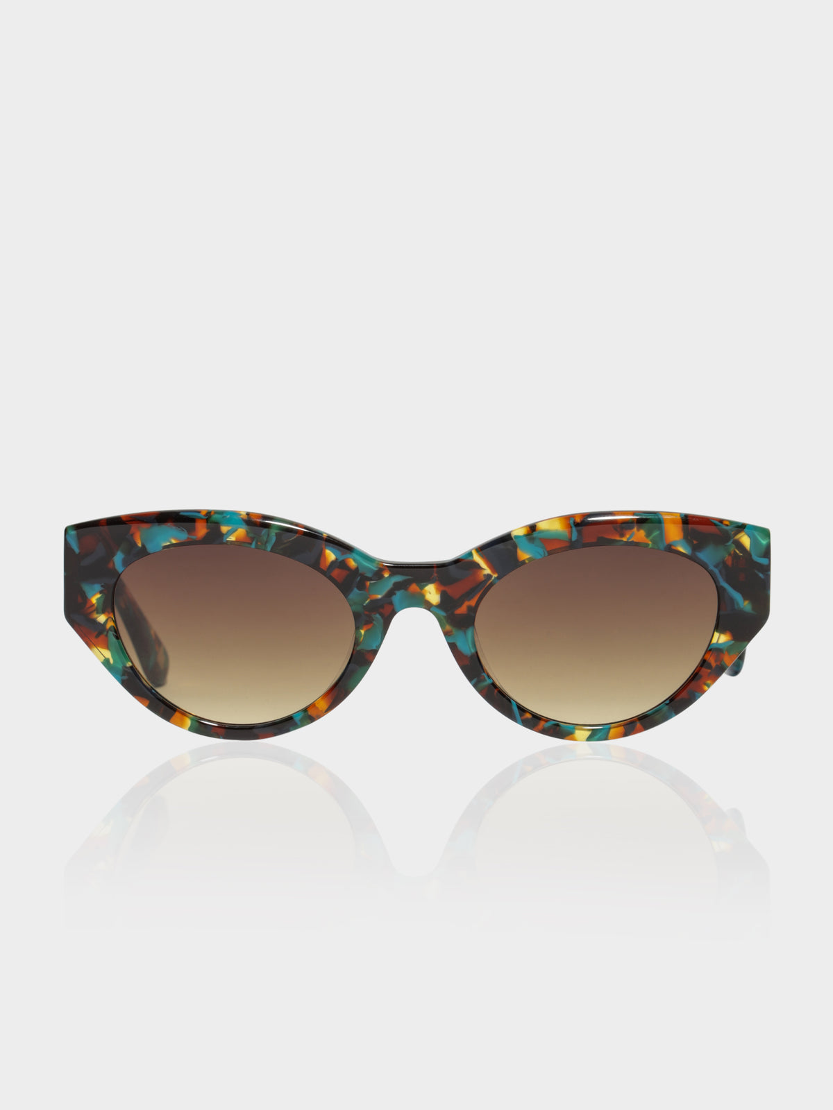 CL771003 Magnific Sunglasses in Brown Green Tortoiseshell