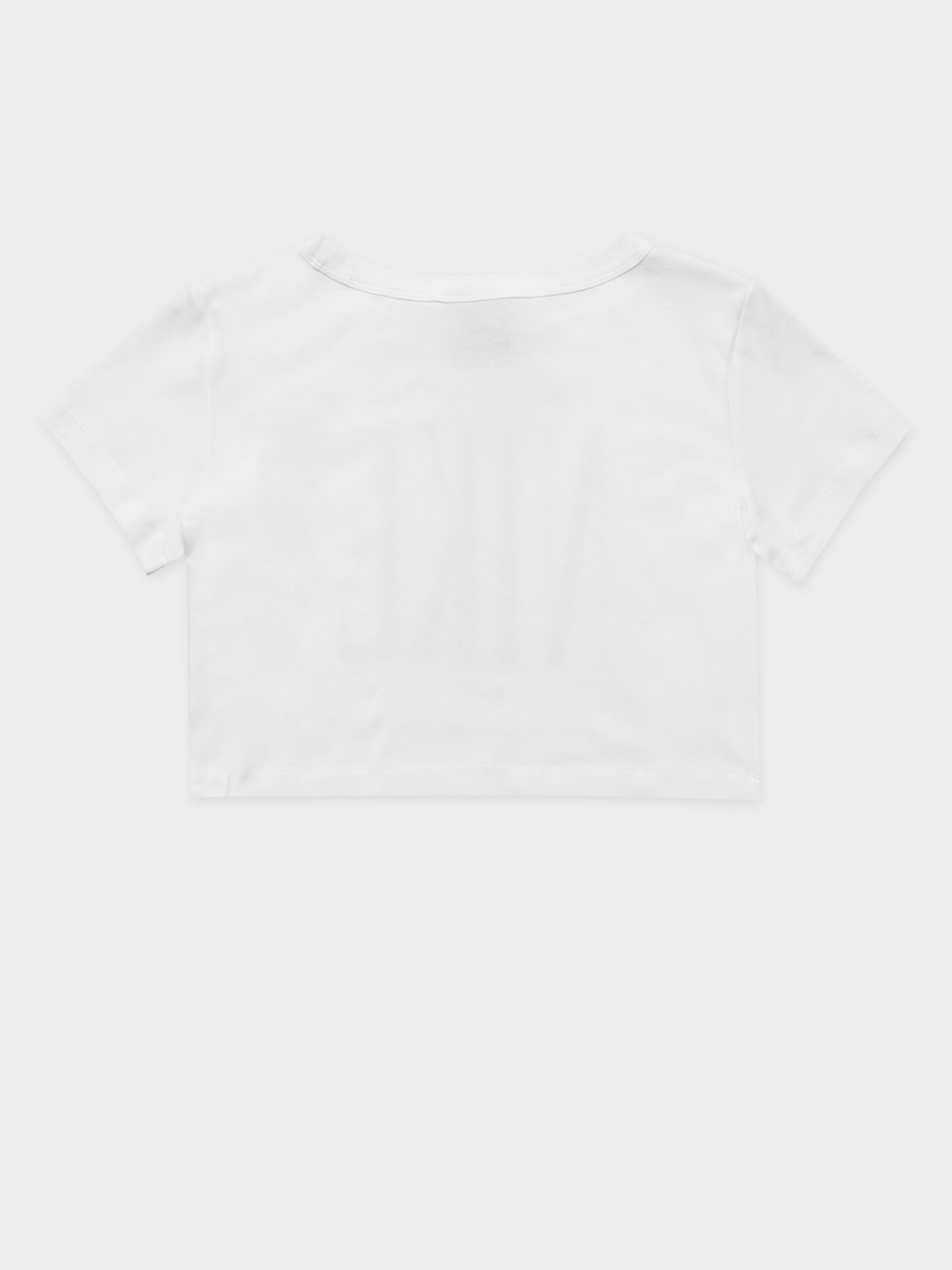 Sportswear Cropped T-Shirt in White