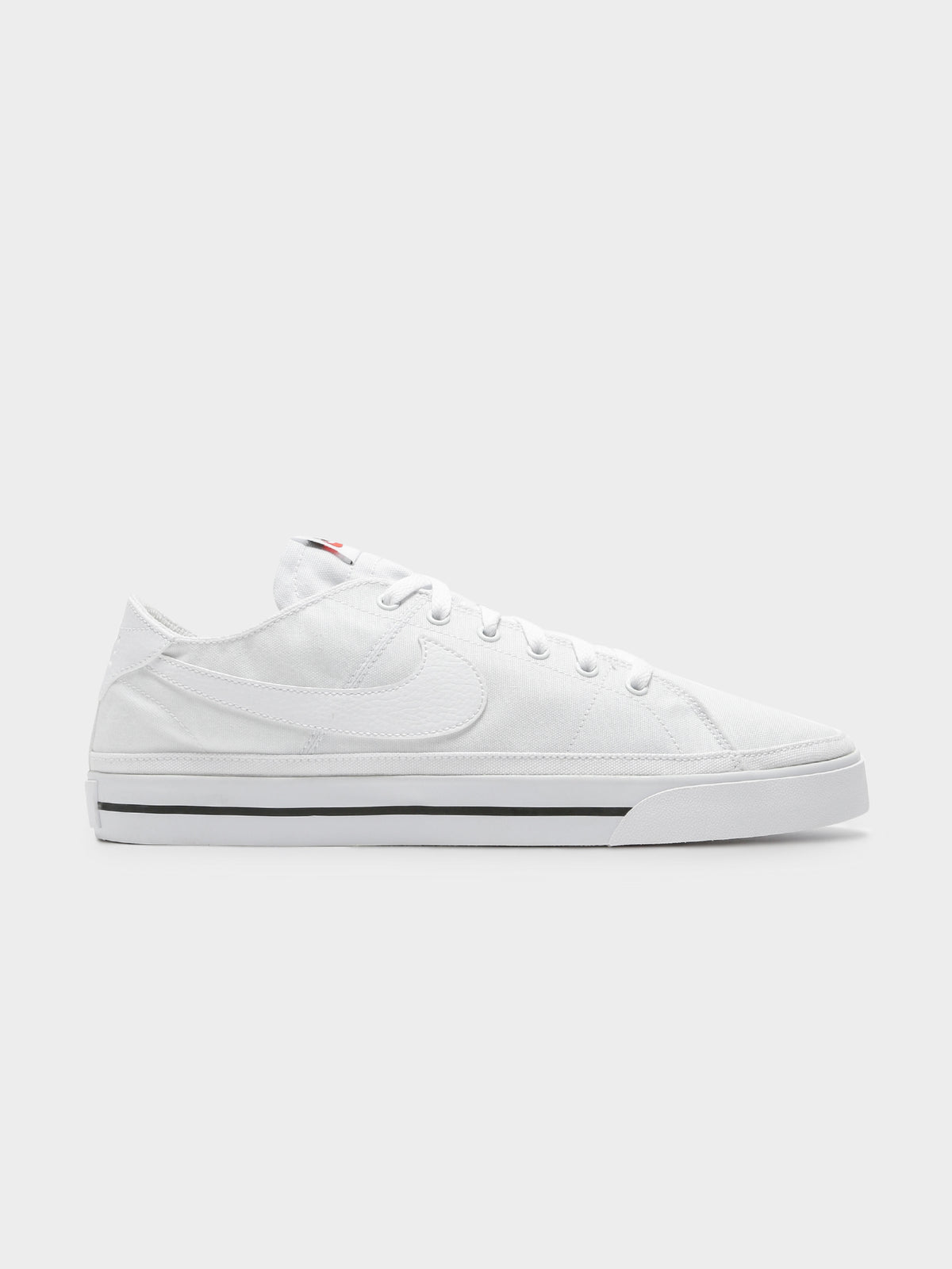 Mens Court Legacy Canvas Sneaker in White