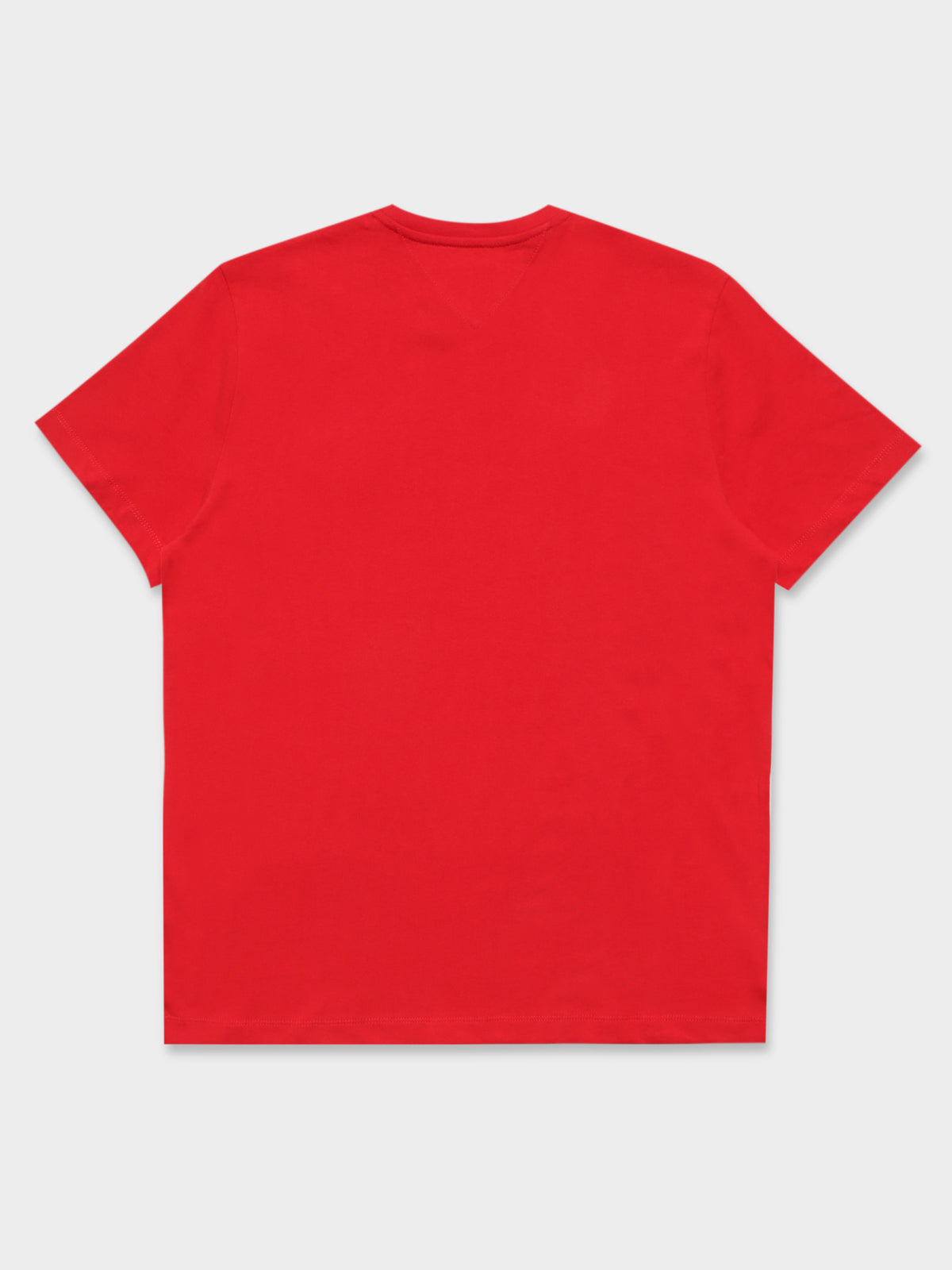 Tommy Badge T-Shirt in Red