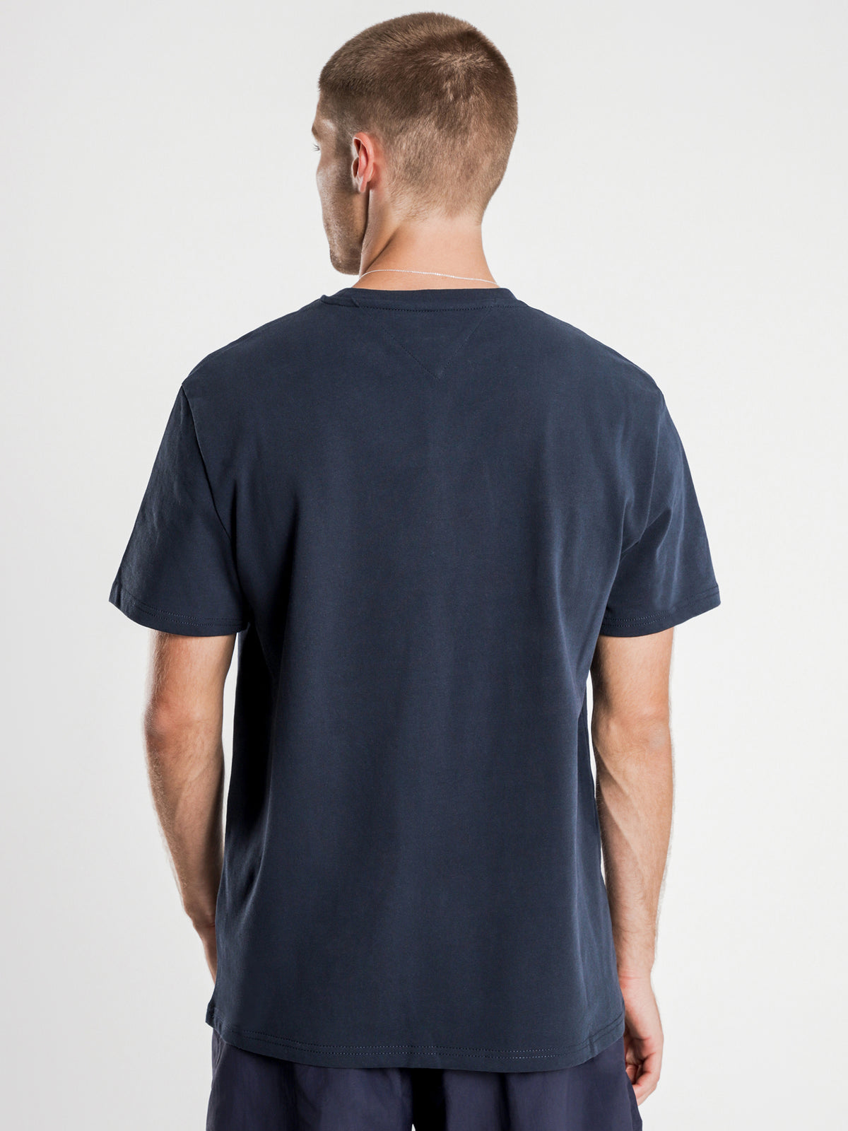 Tommy Flag T-Shirt in Navy