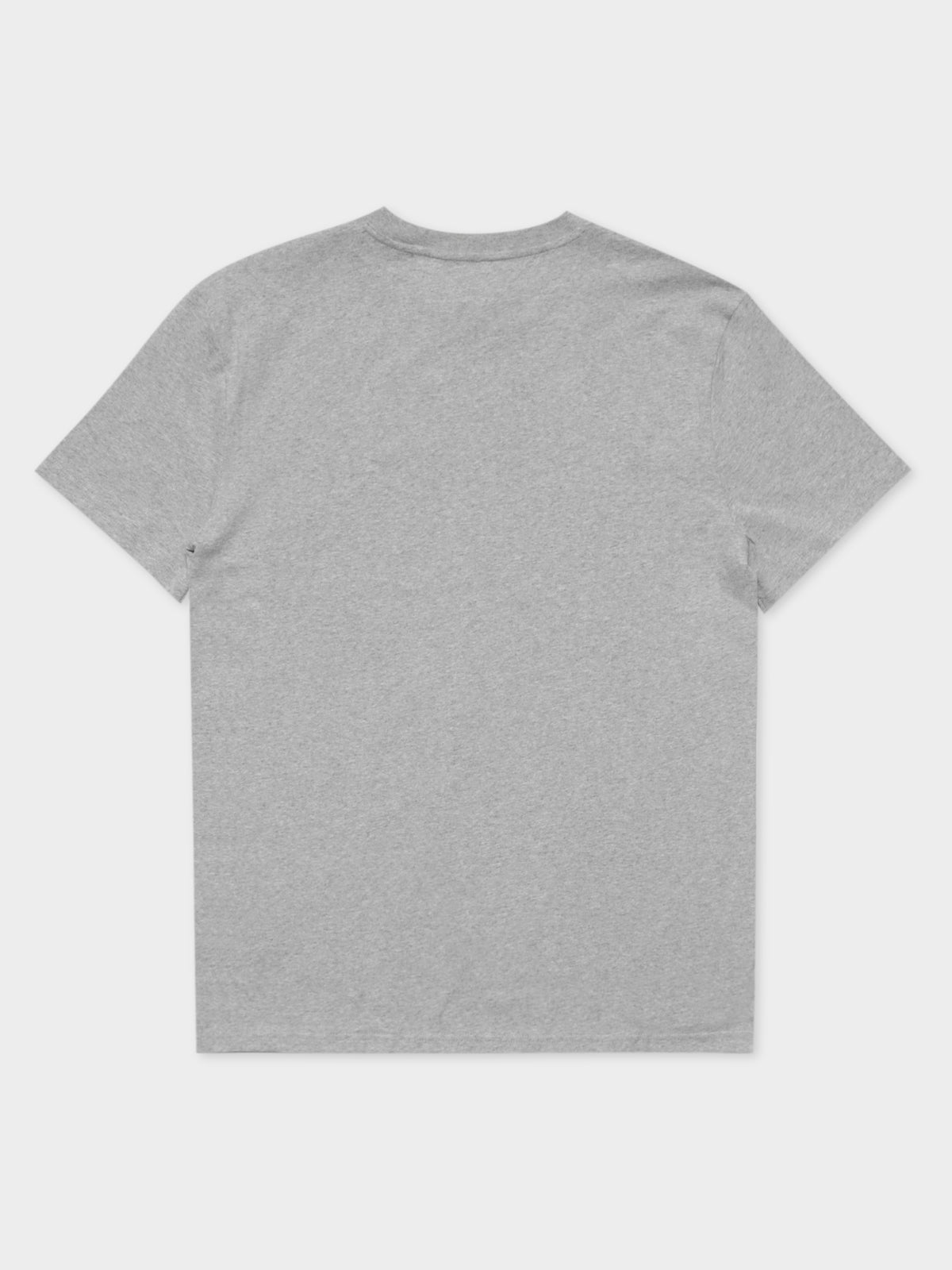 Straight Small Logo T-Shirt in Grey