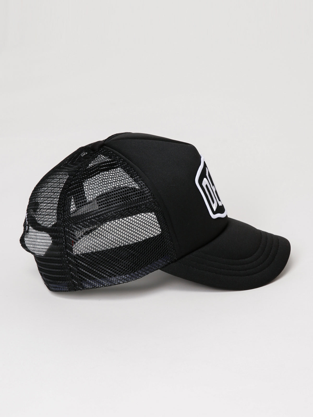 Baylands Trucker Cap in Black