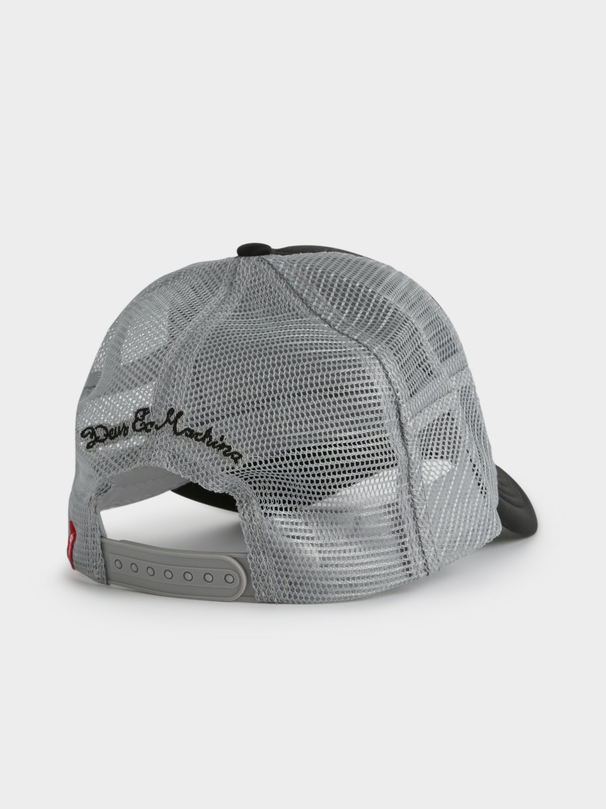 Baylands Trucket Cap in Black & Grey
