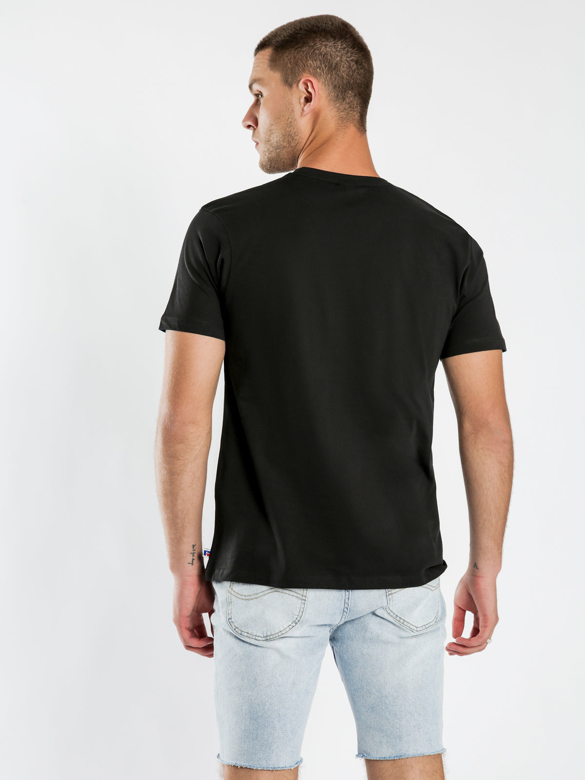 Iconic Crew Neck T-Shirt in Black