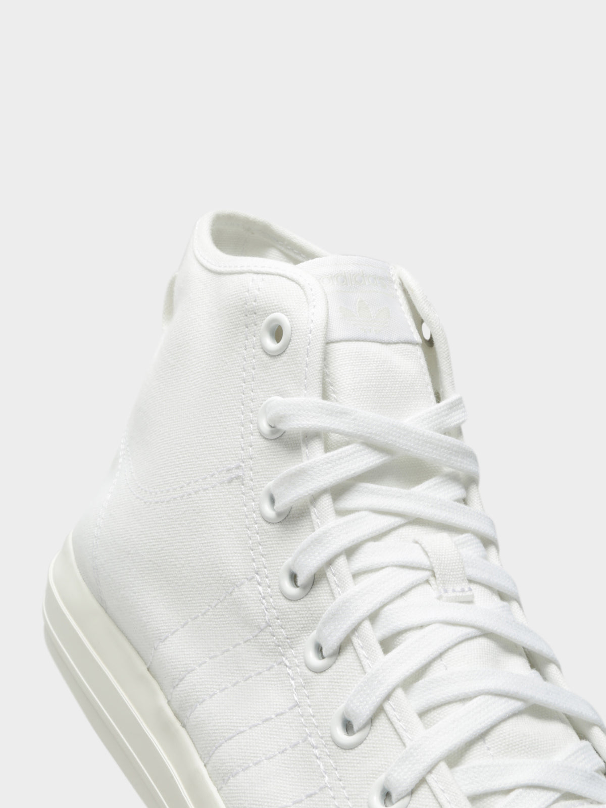 Mens Nizza High Top Sneakers in White