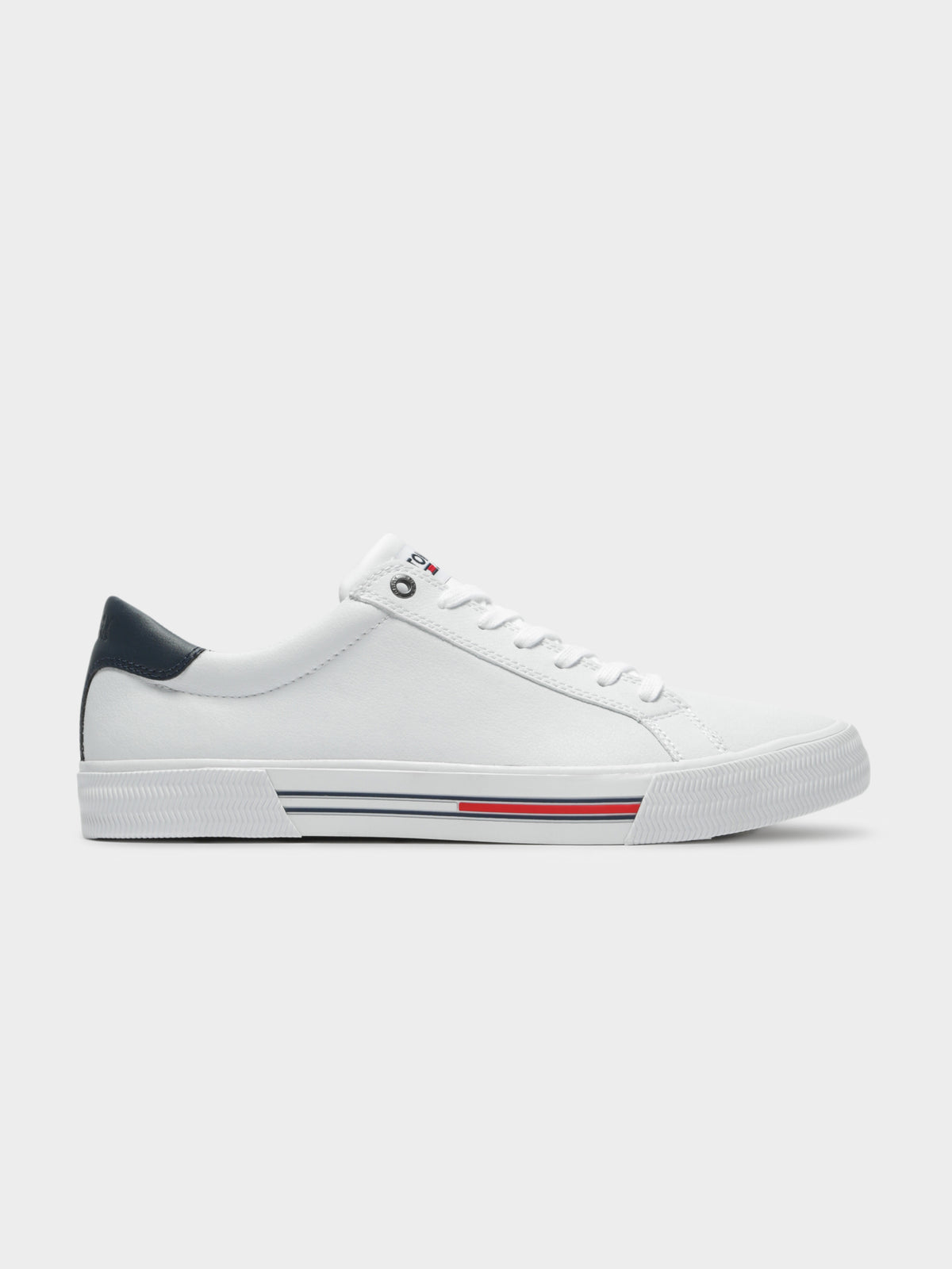 Essential Leather Sneakers in White
