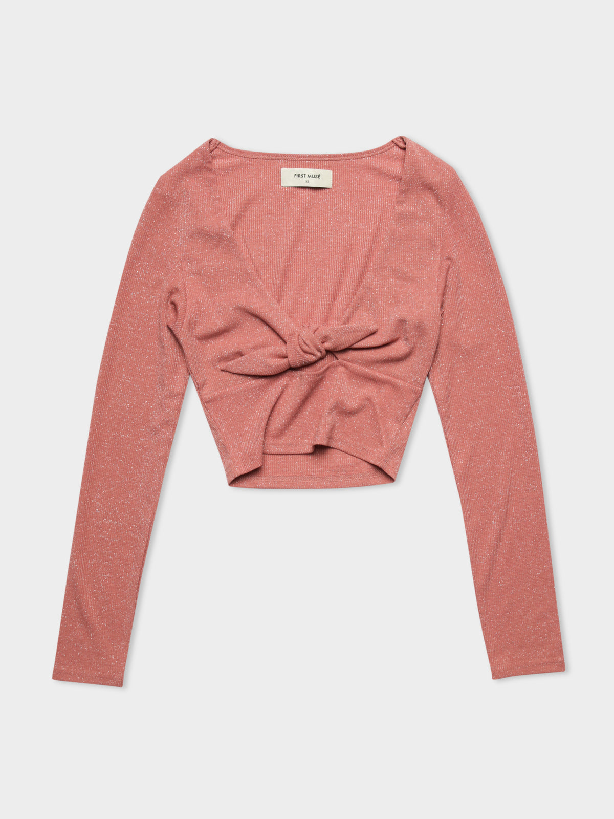 Soulmate Tie Top in Rose