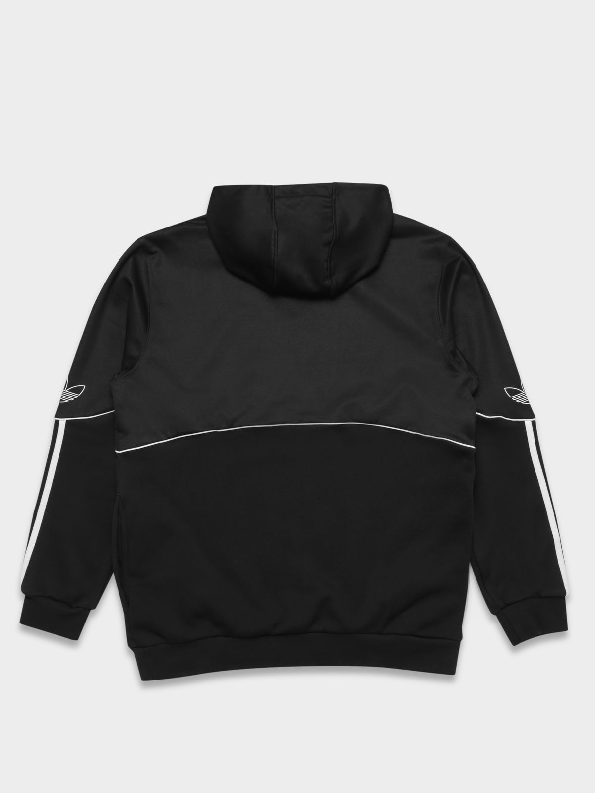 Outline Hoodie in Black & White