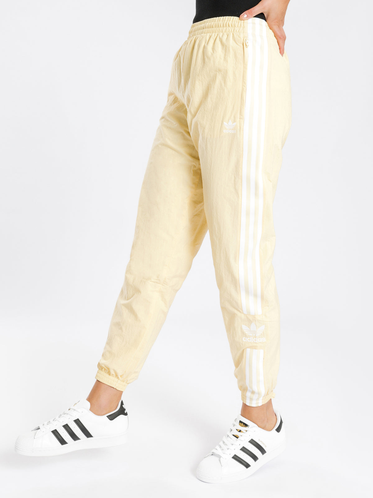 Lock Up Track Pants in Easy Yellow