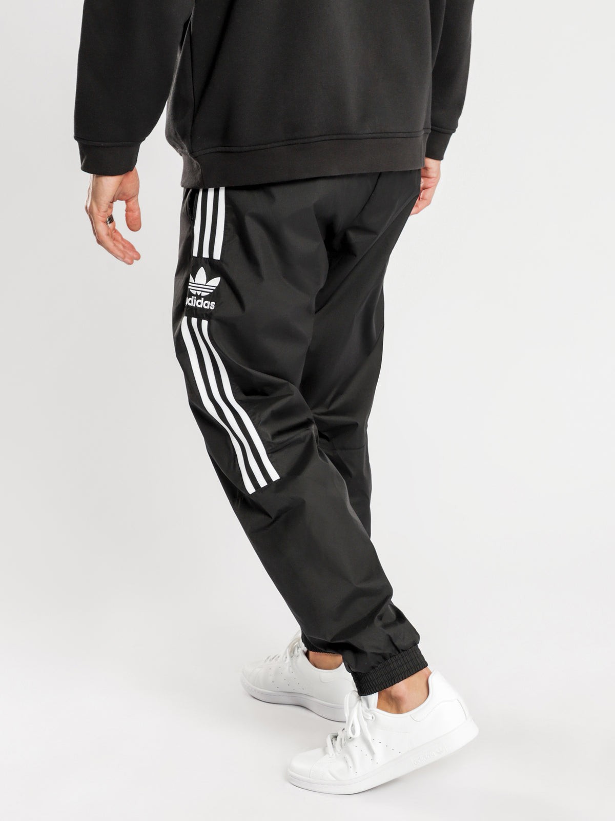 Lock Up Track Pants in Black