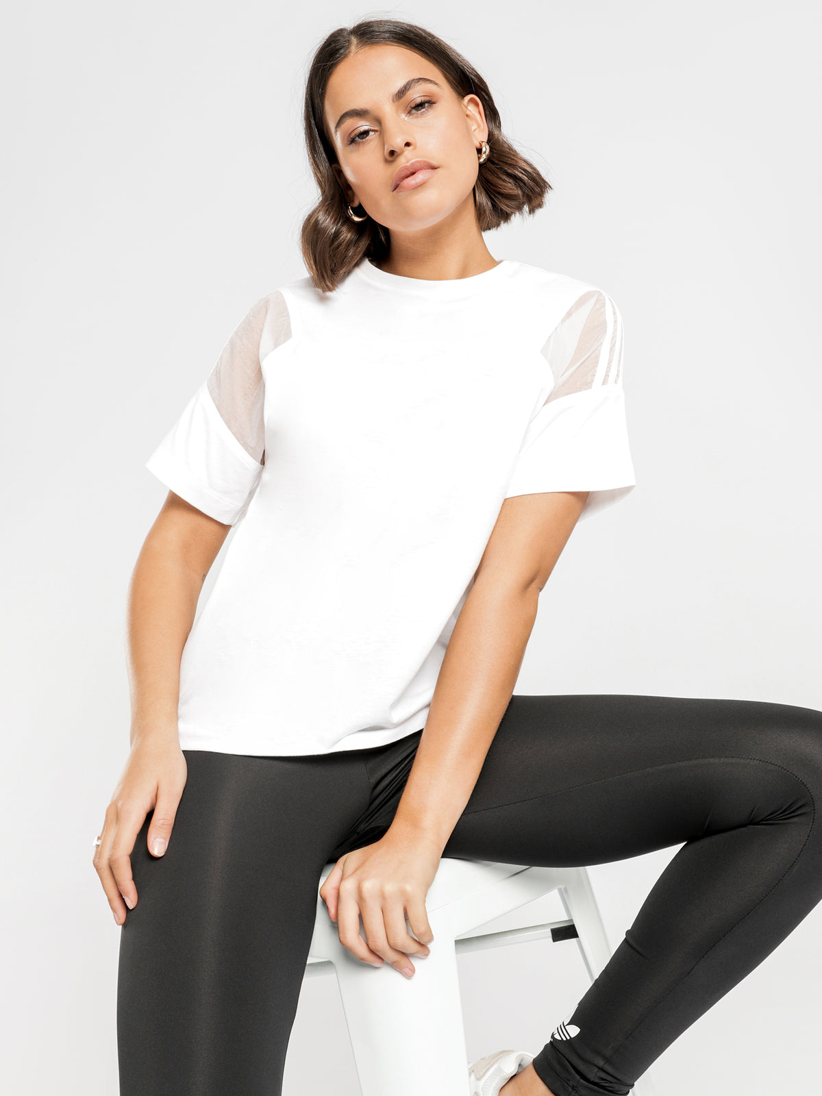 Short Sleeve T-Shirt in White