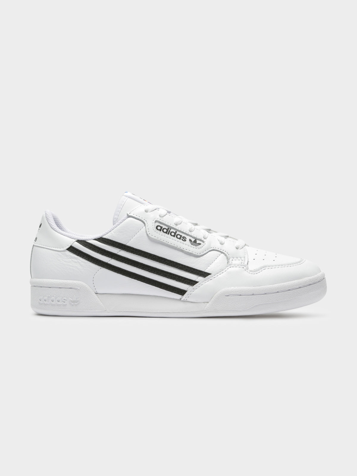 Mens Continental 80 Sneakers in Black & White