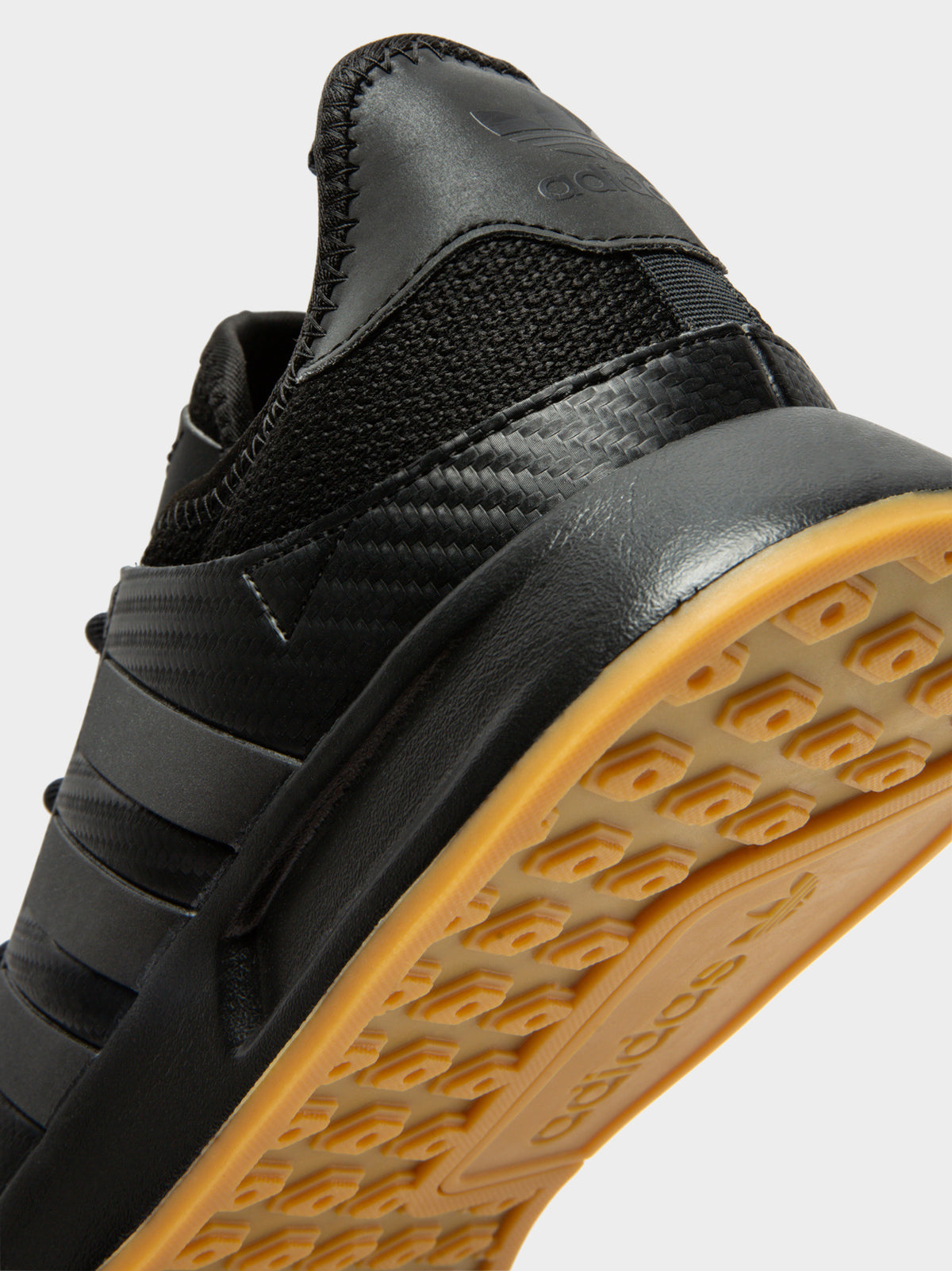 Mens X_PLR Sneakers in Black & Gum