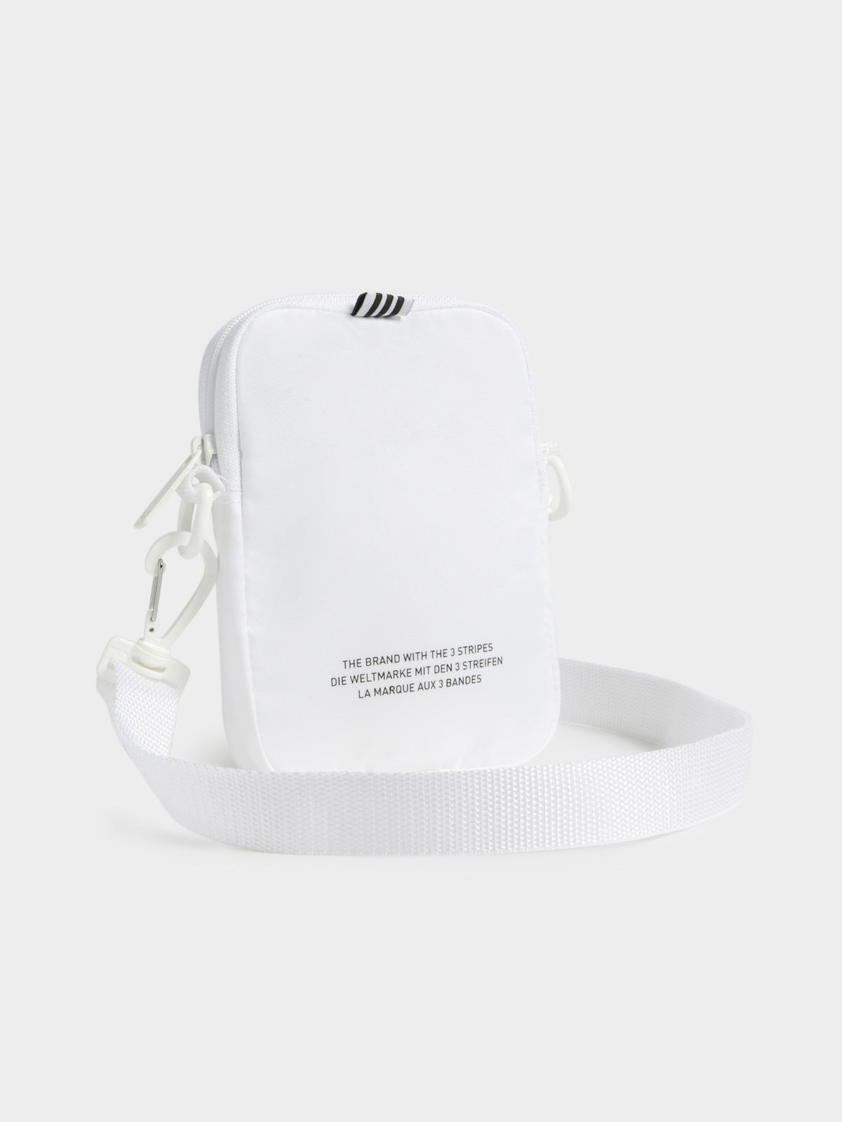 Trefoil Festival Bag in White