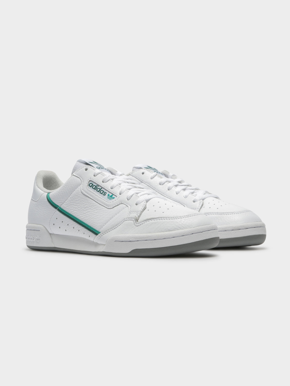 Mens Continental 80 Sneakers in Cloud White & Glory Green