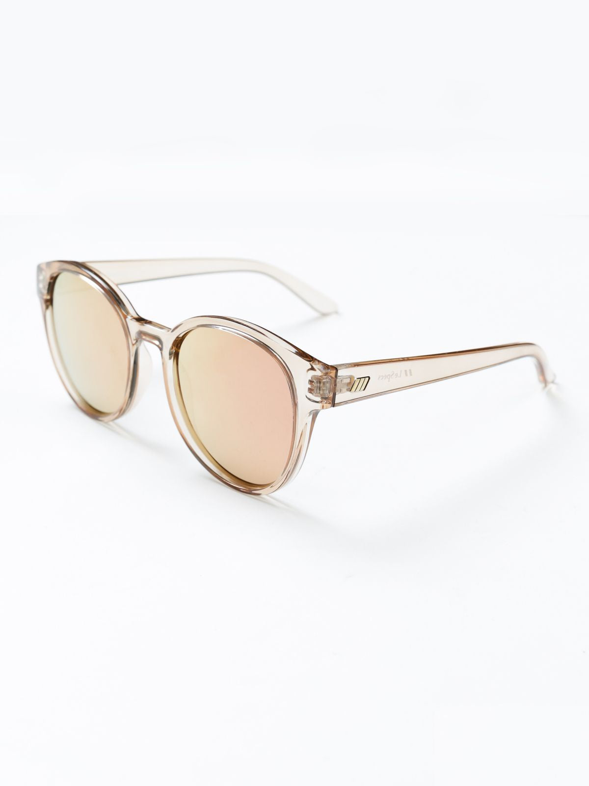 Womens Paramount Sunglasses in Peach Tan
