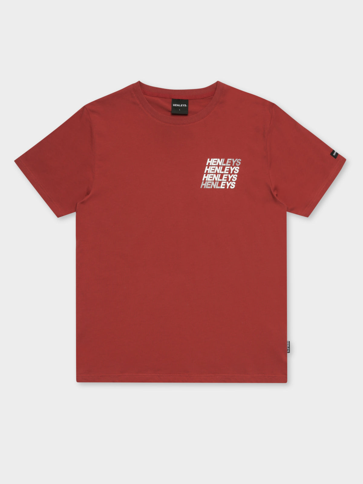 Valdez T-Shirt in Burnt Orange