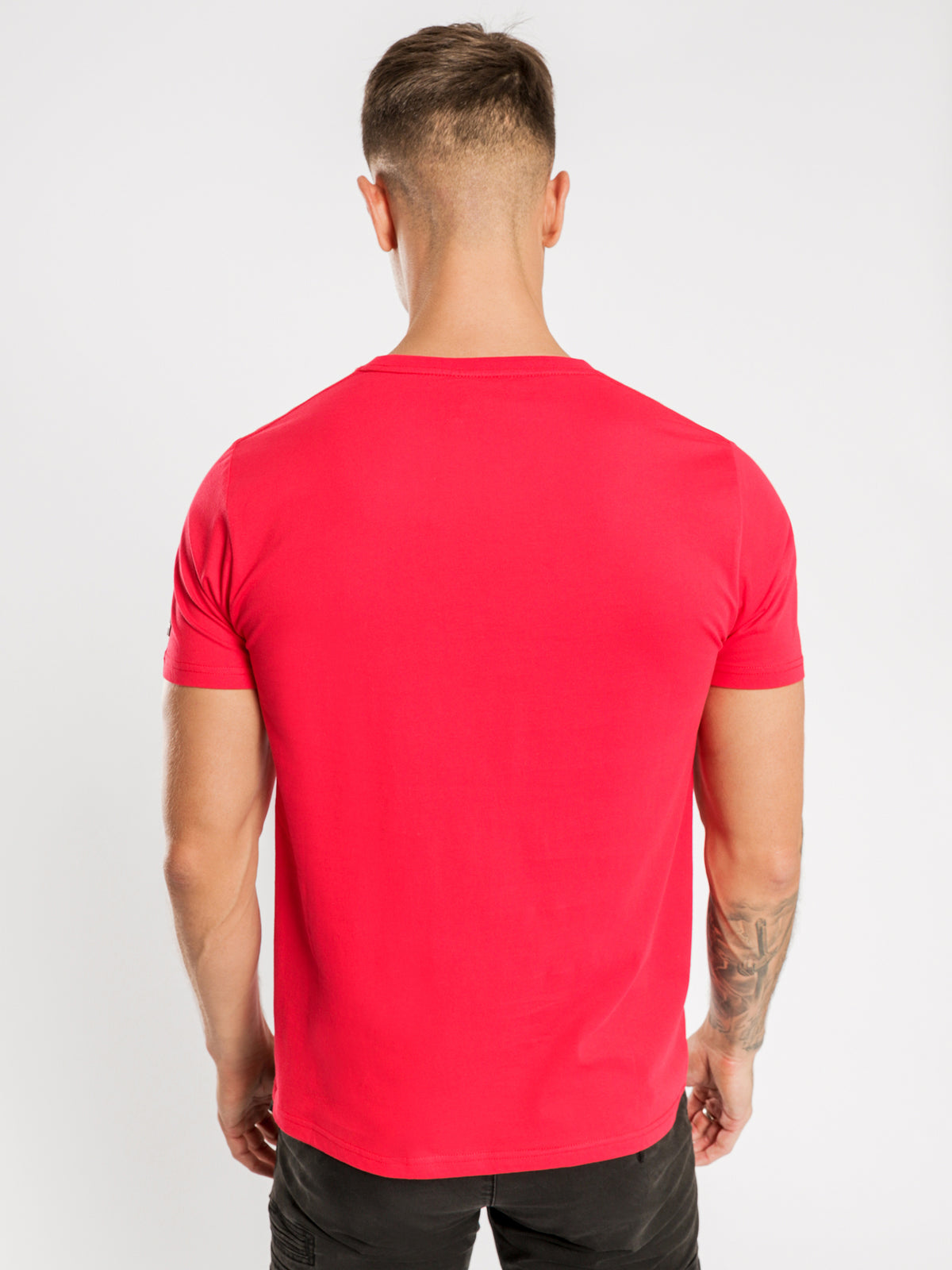 Jenkins T-Shirt in Fire Red