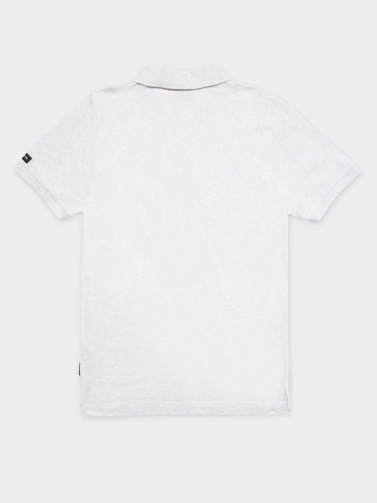 Otis Polo T-Shirt in Snow Marle