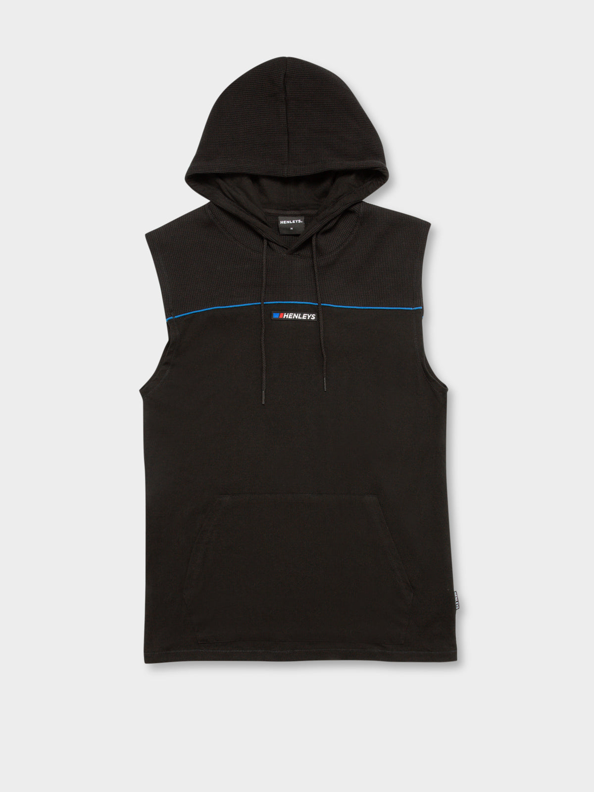 Trent Hooded Muscle Tank in Black