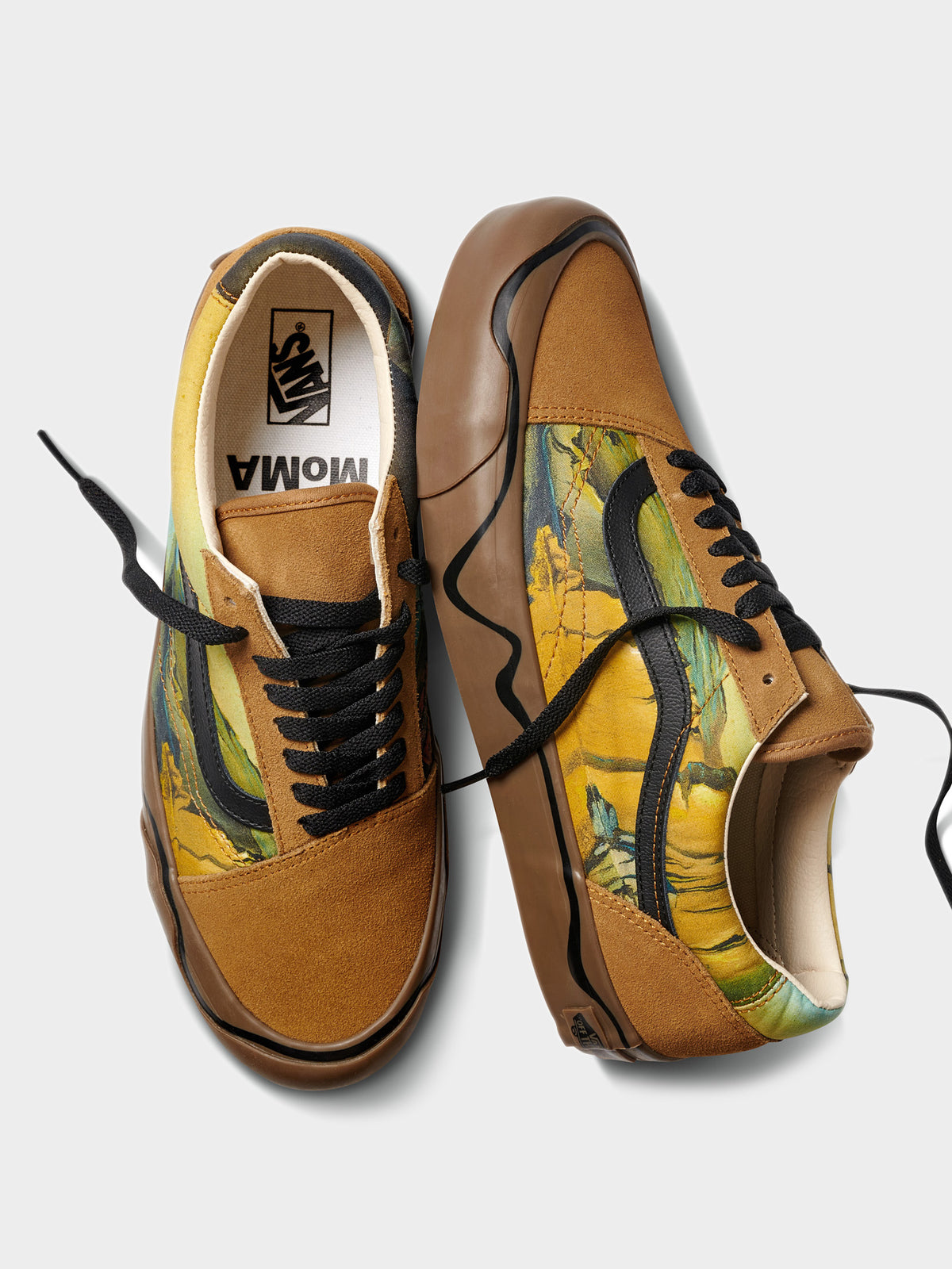 Unisex Old Skool Twist MoMA Sneakers in Salvador Dali Print