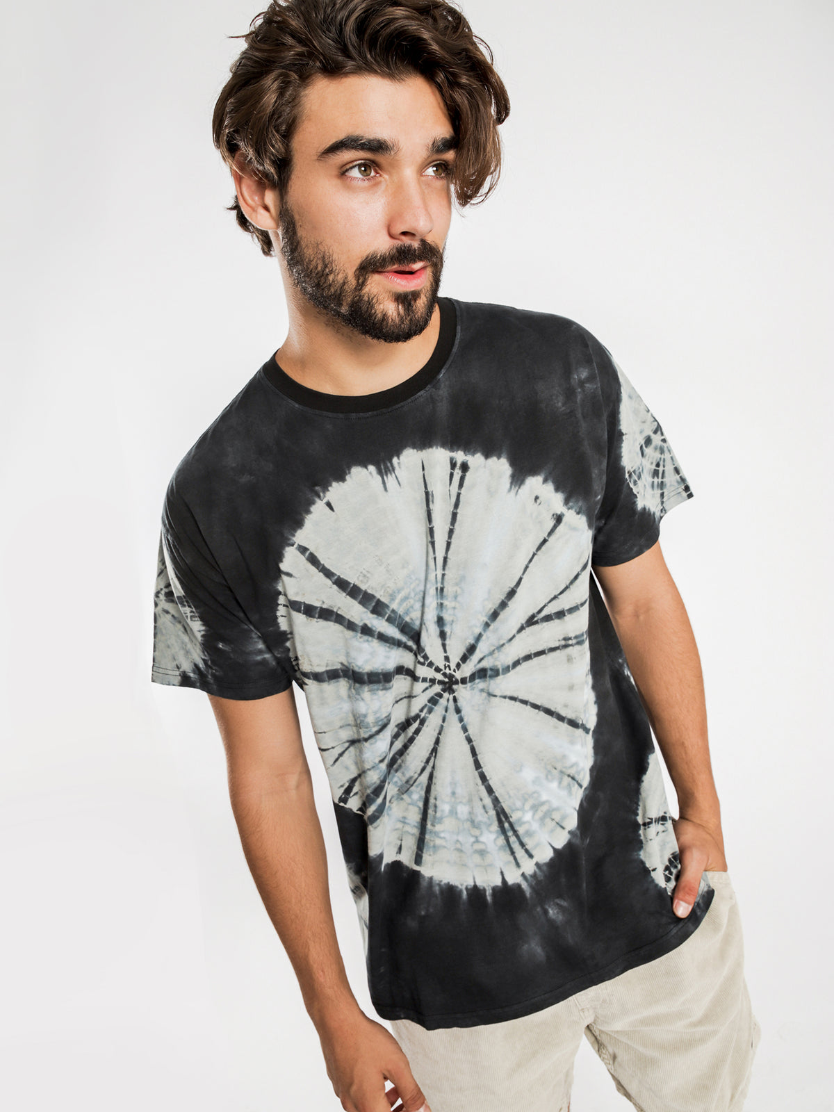 Smashing Vintage T-Shirt in Blue Tie-Dye