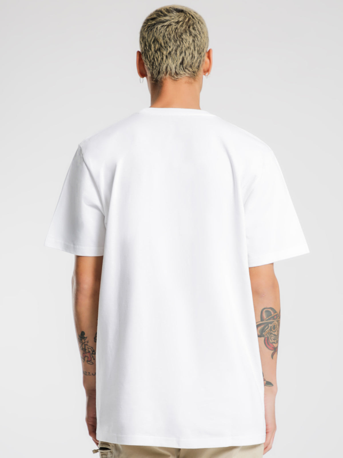Division Short Sleeve T-Shirt in White