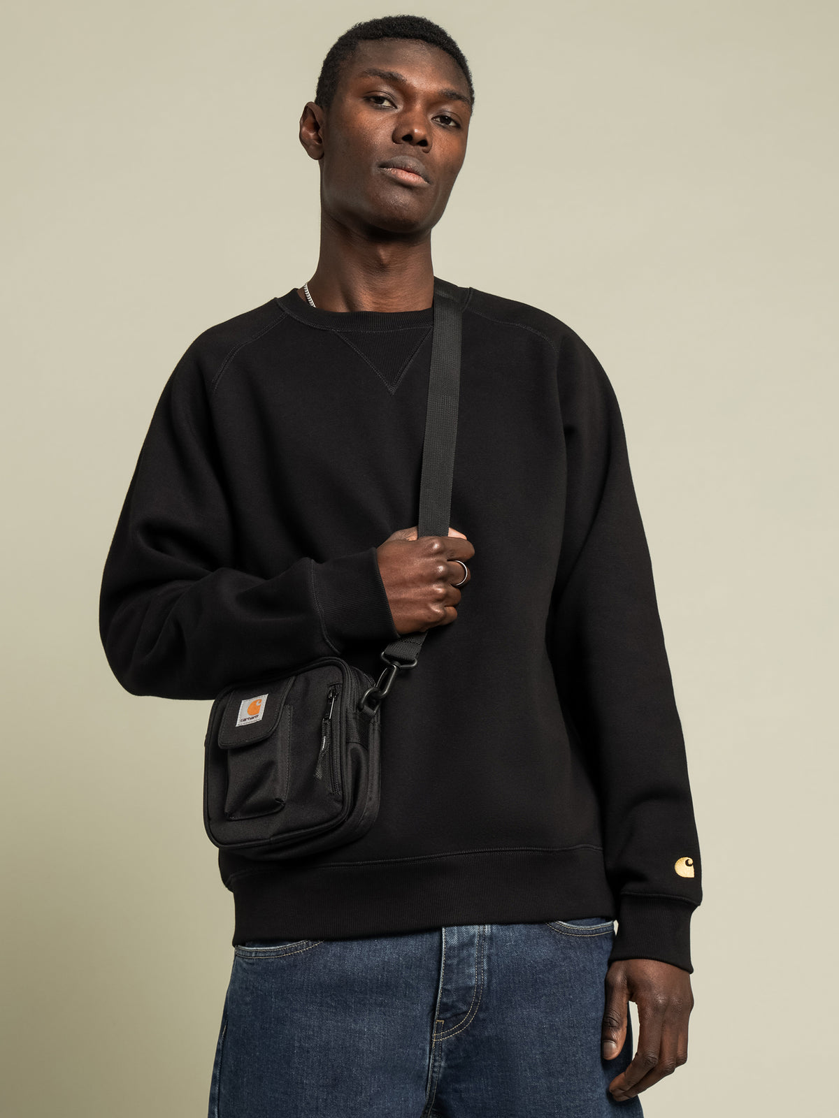 Chase Sweatshirt in Black