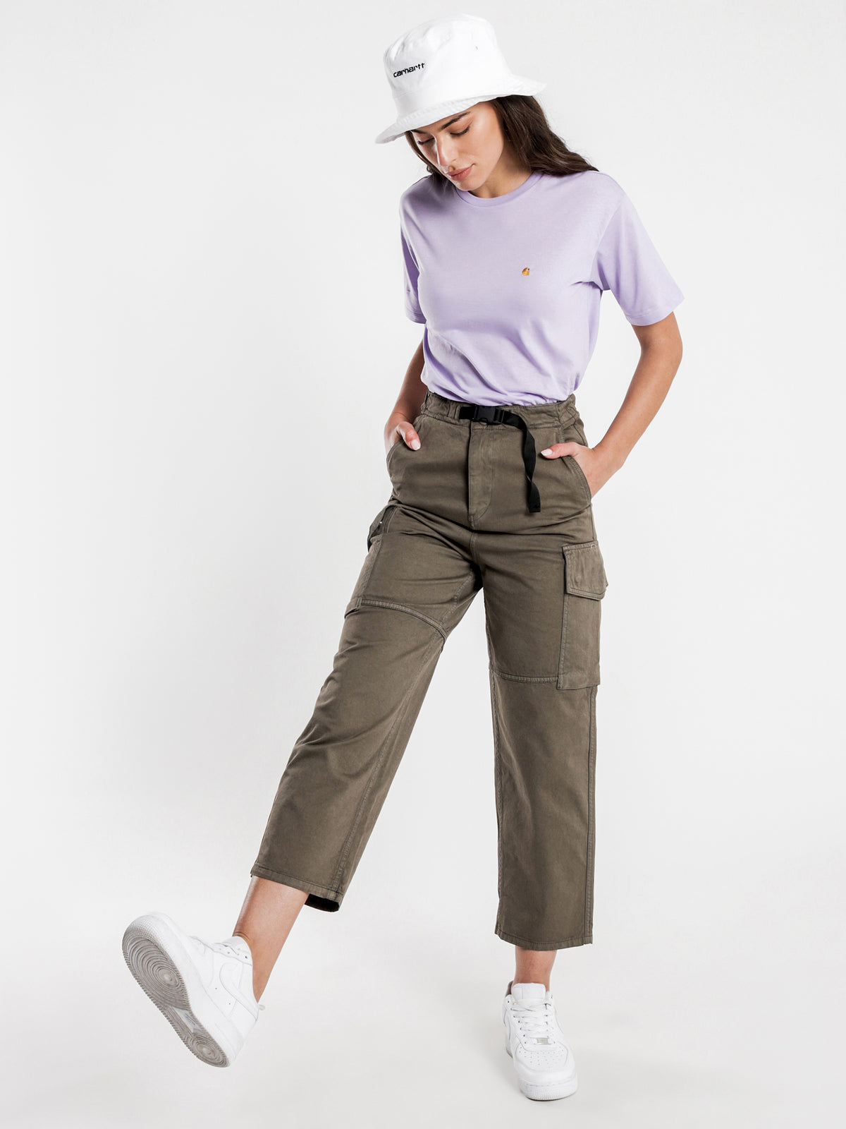 Luton Relaxed Pants in Khaki