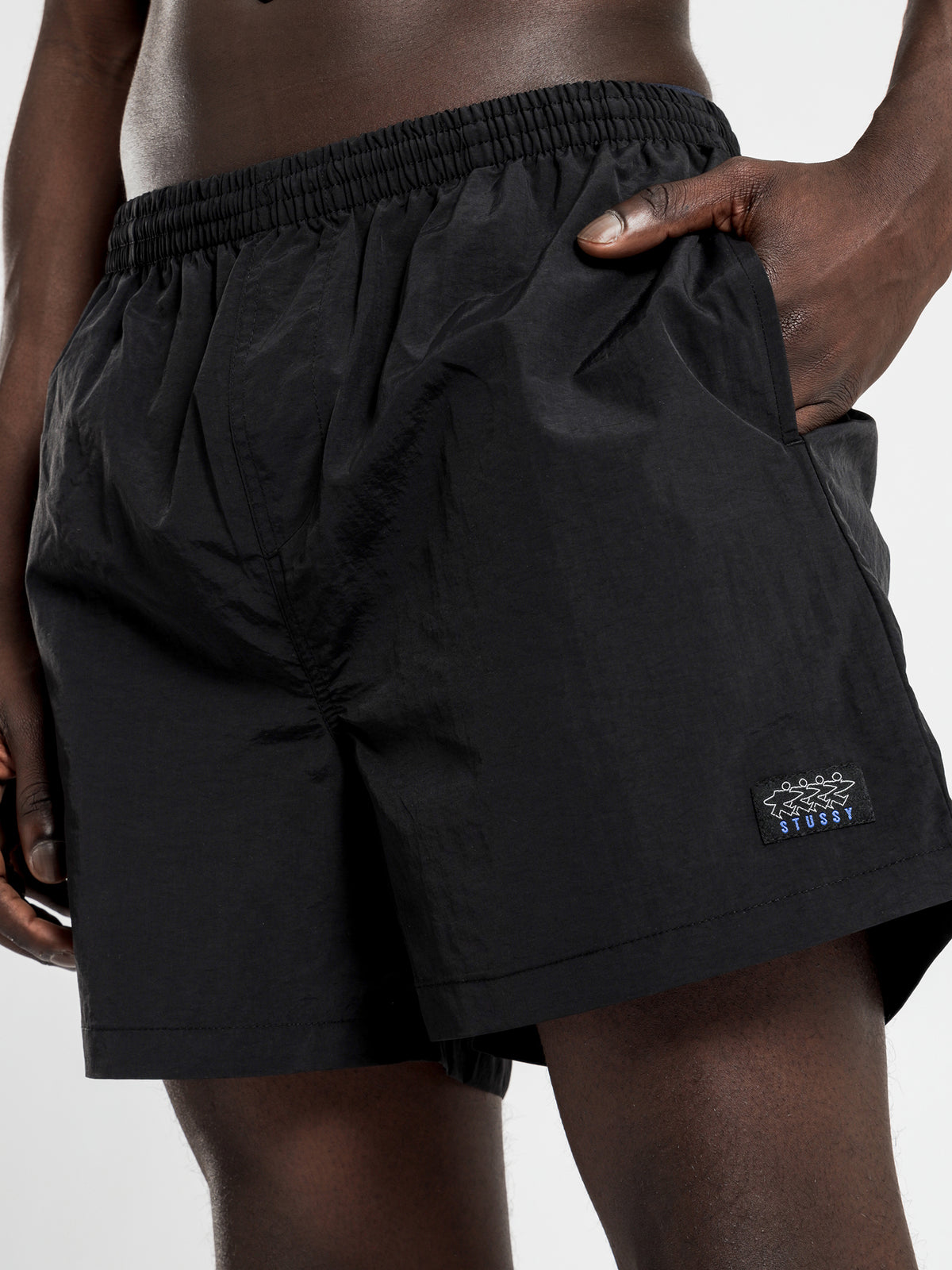 Big Beach Short in Black