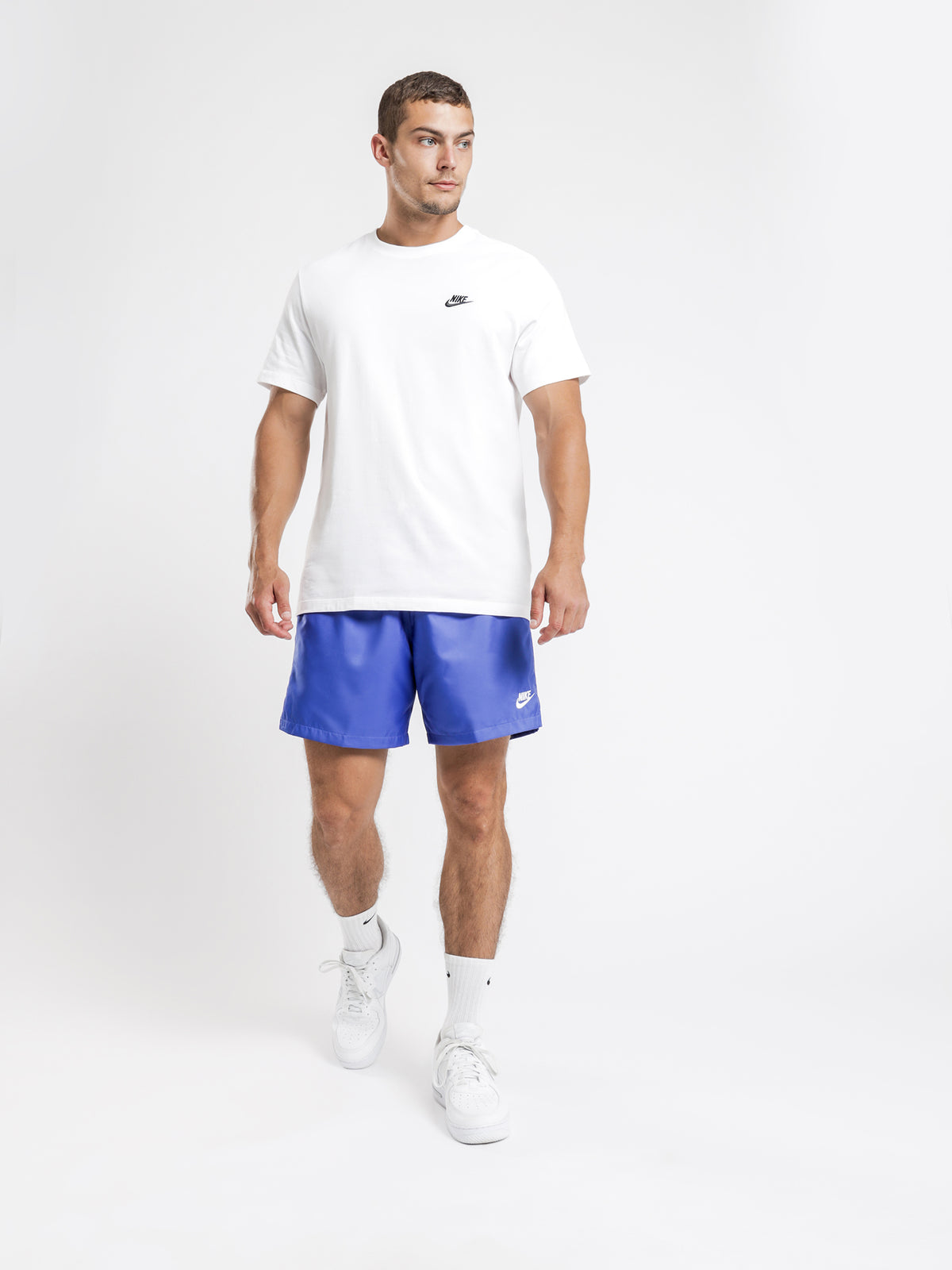 Sportswear Men's Woven Shorts in Blue