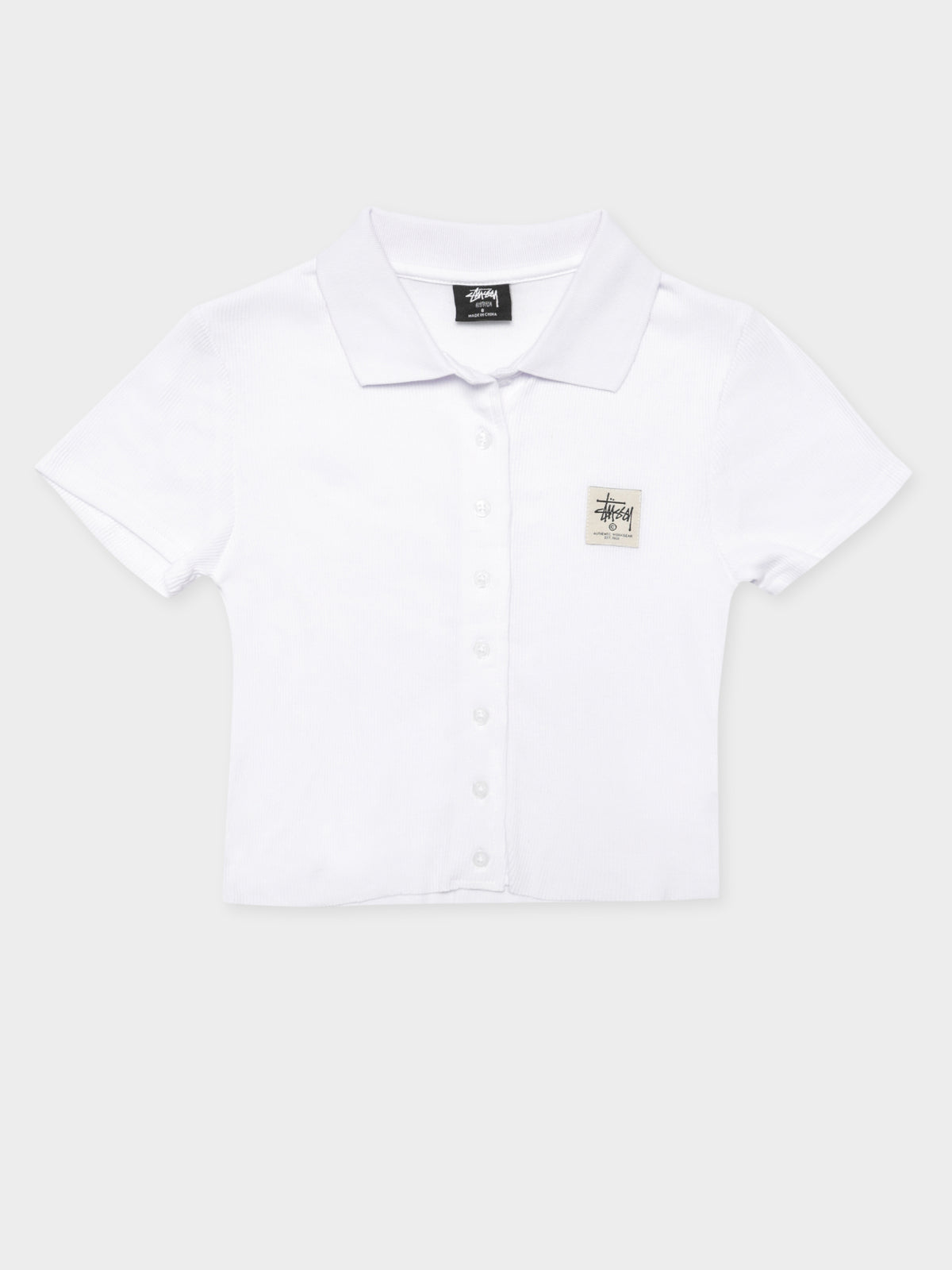 Markham Rib T-Shirt in White