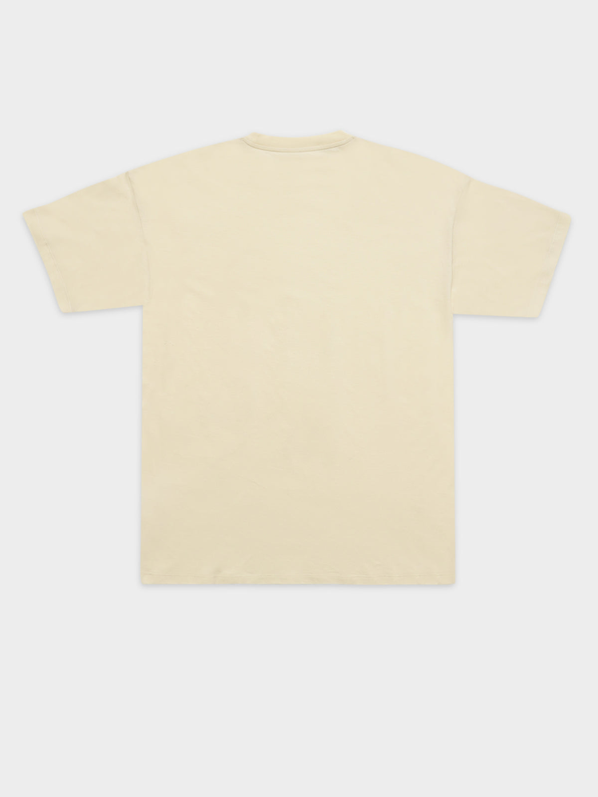 Short Sleeve Embroidery T-Shirt in Flour
