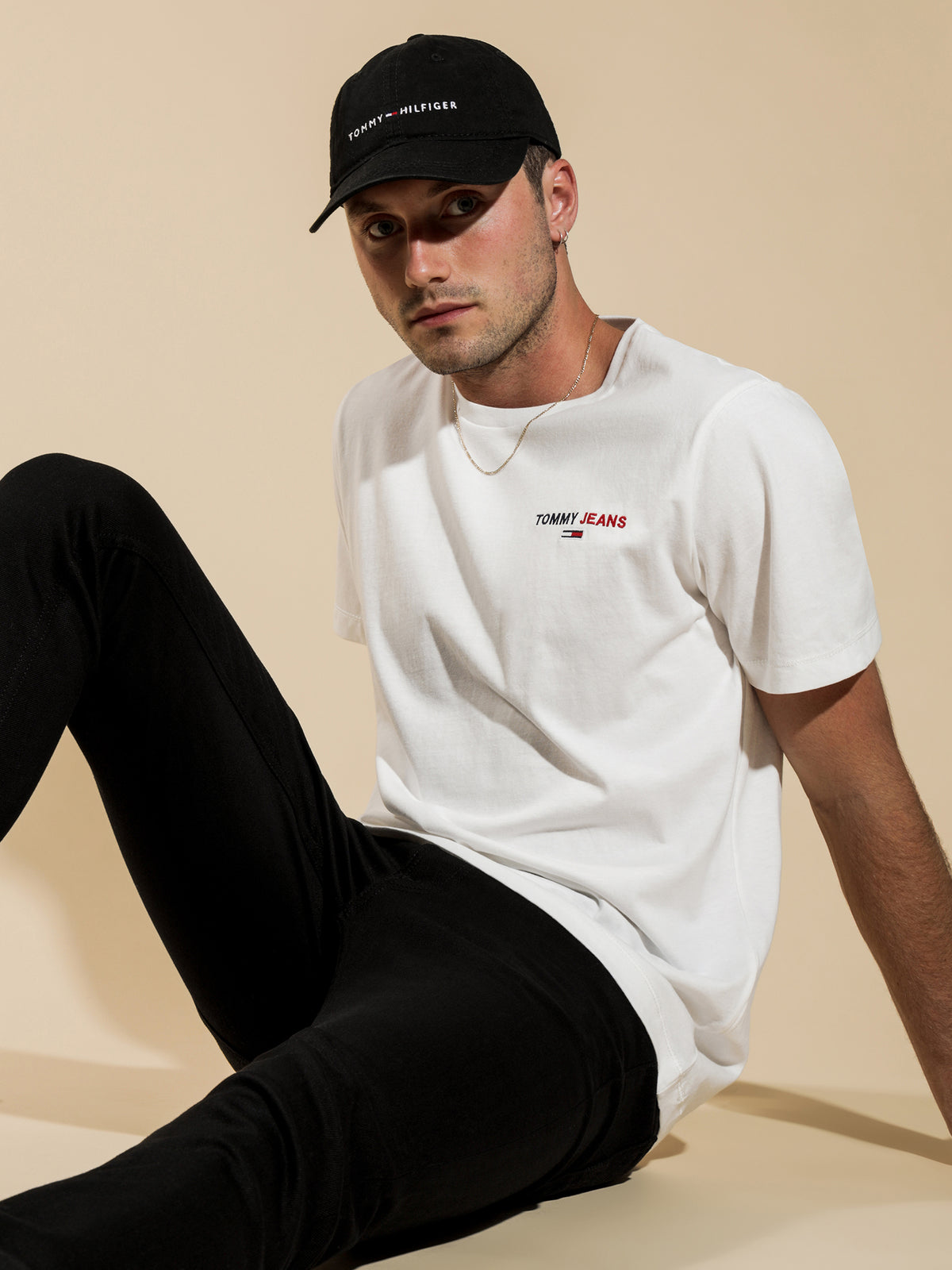 Chest Corp Logo T-Shirt in White