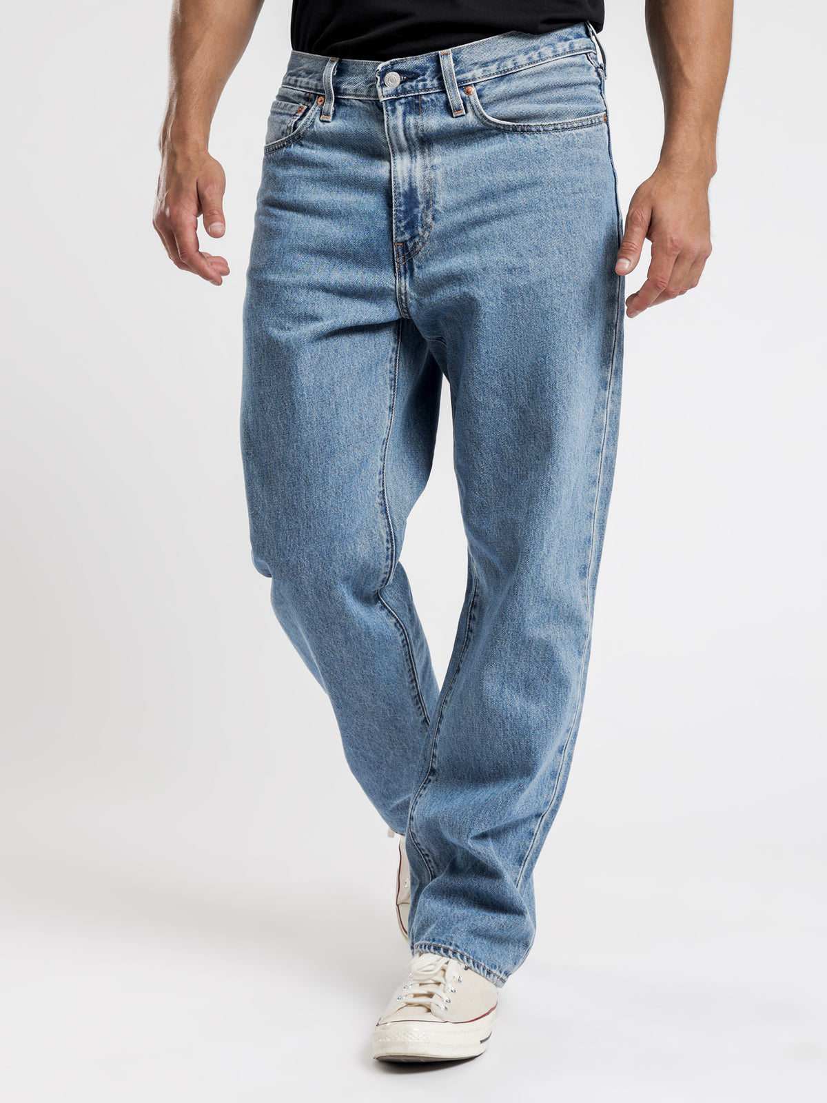 Stay Loose Jeans in Denim Blue