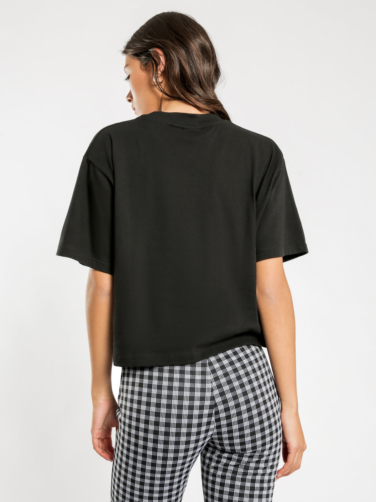 Holt Boxy T-Shirt in Black