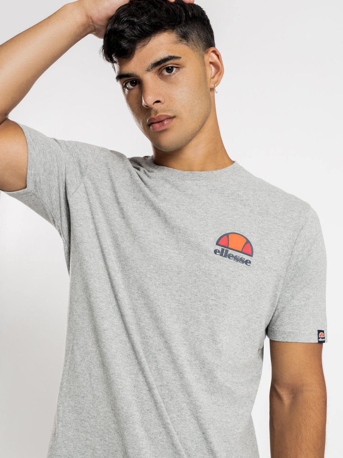 Canaletto T-Shirt in Grey Marl