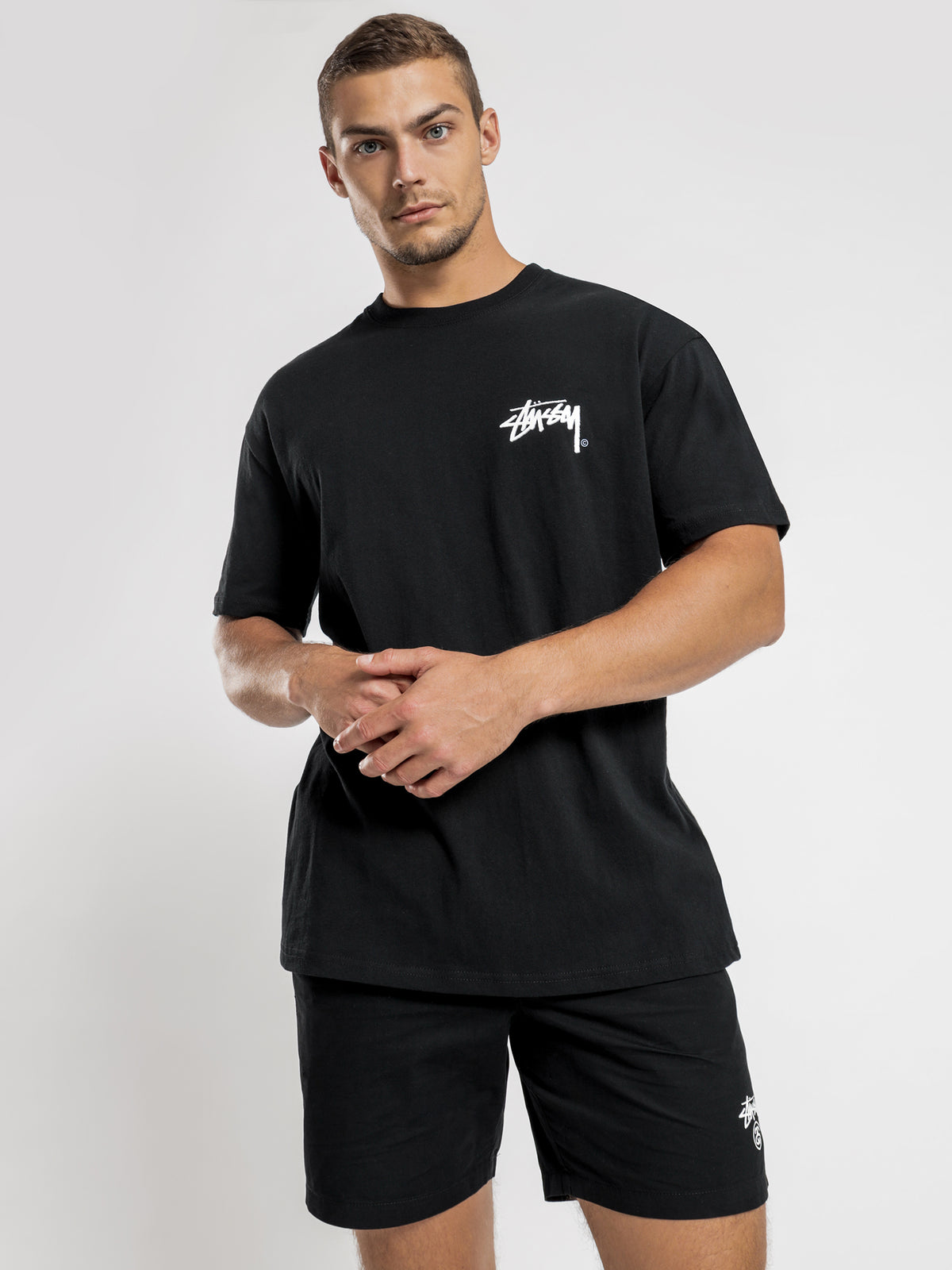 Shadow Stock T-Shirt in Black