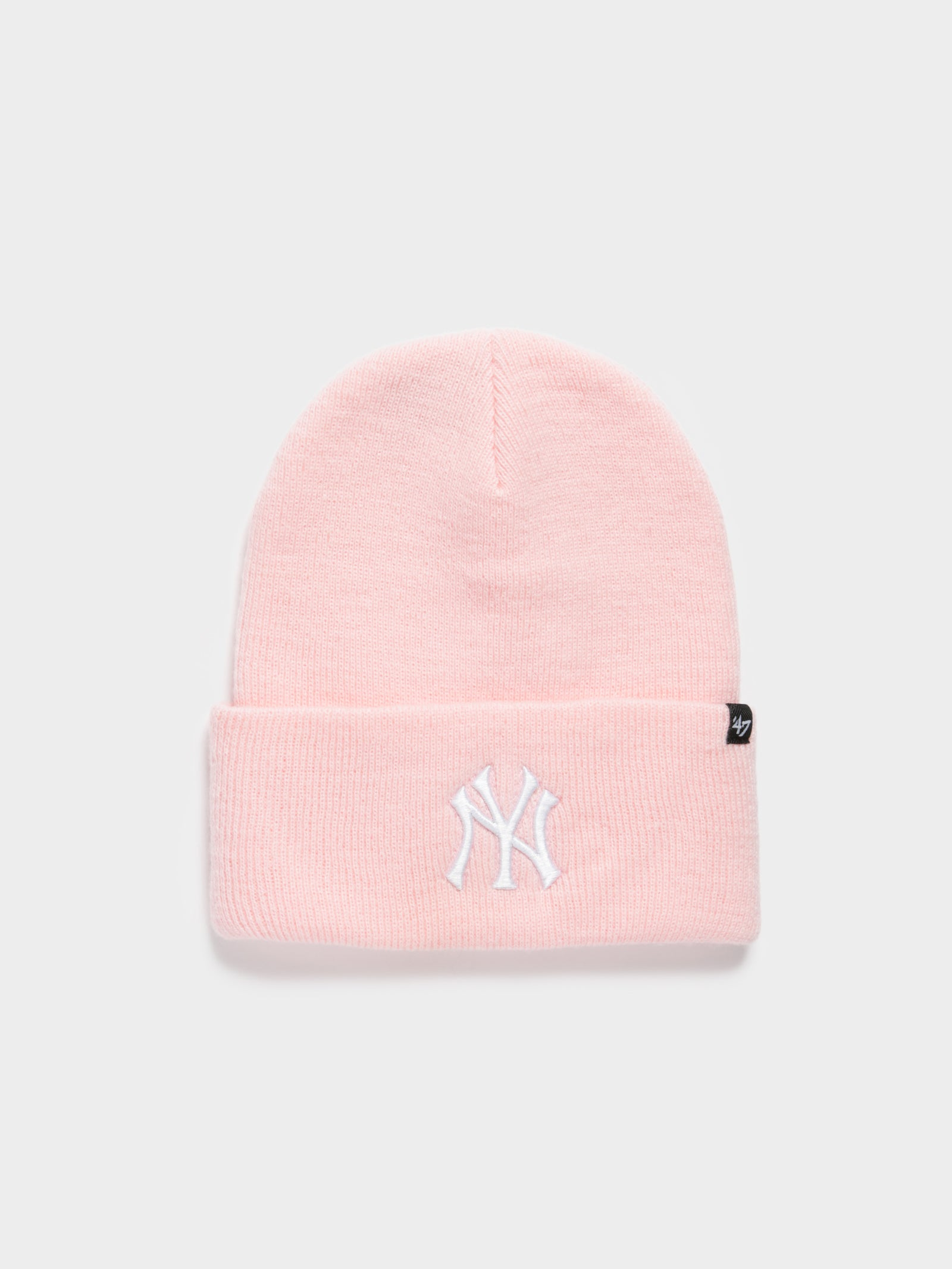 NY Haymaker Beanie in Pink