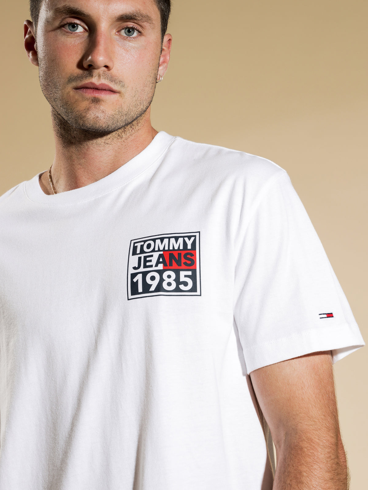 1985 Graphic Logo T-Shirt in White