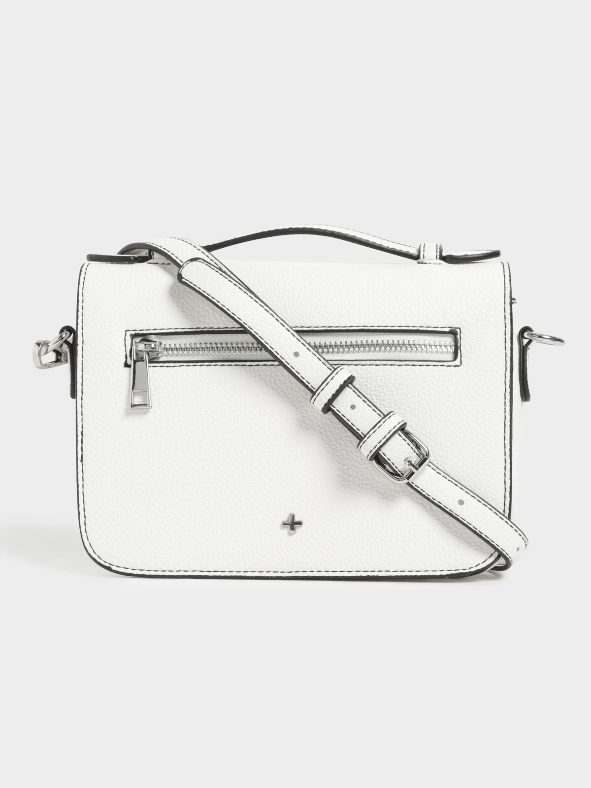 Lisl Cross Body Handbag in White