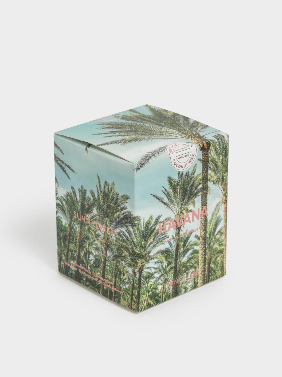 Byron Bay Scented Candle in Coconut & Amber