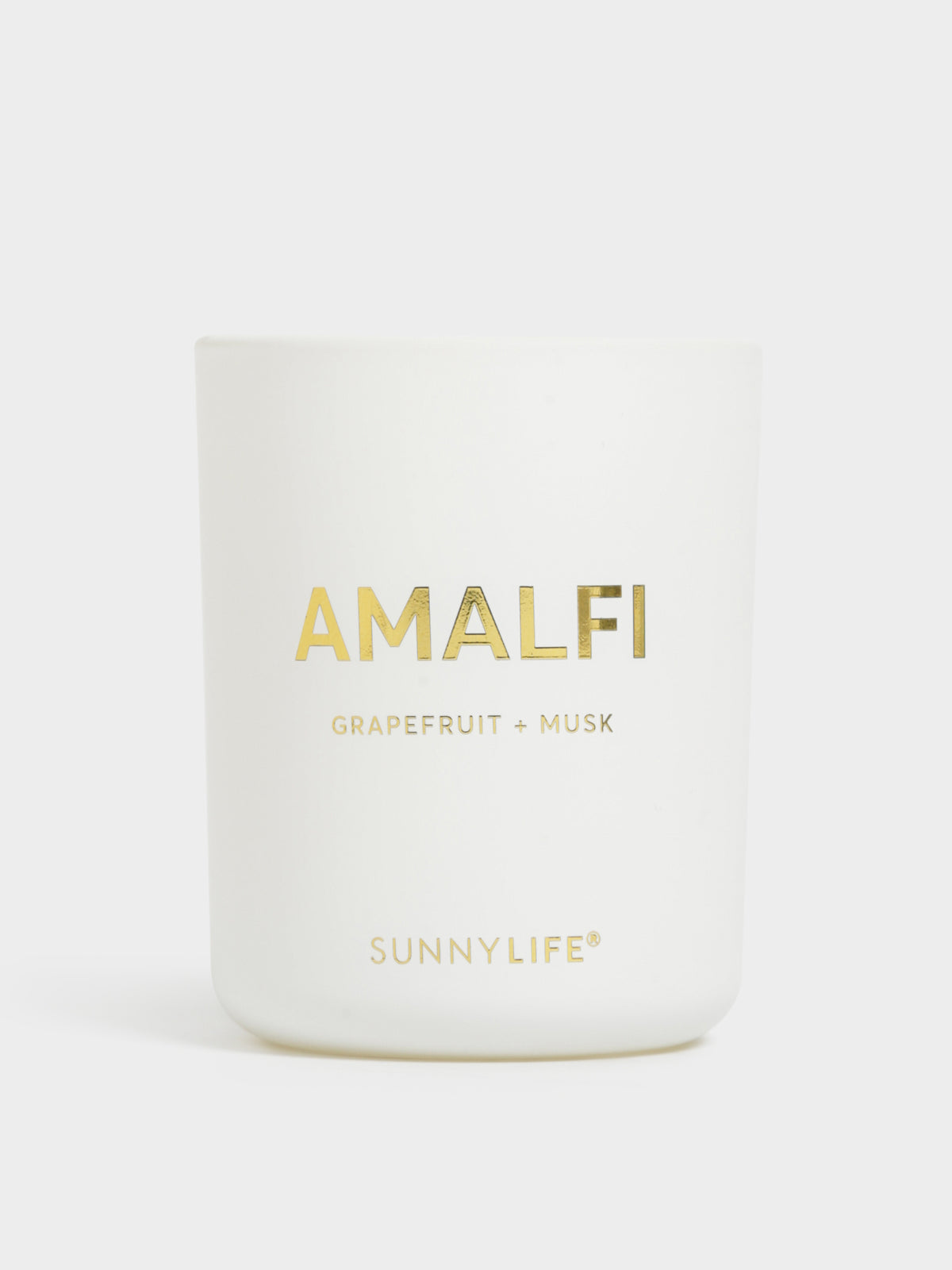 Amalfi Scented Candle in Grapefruit & Musk